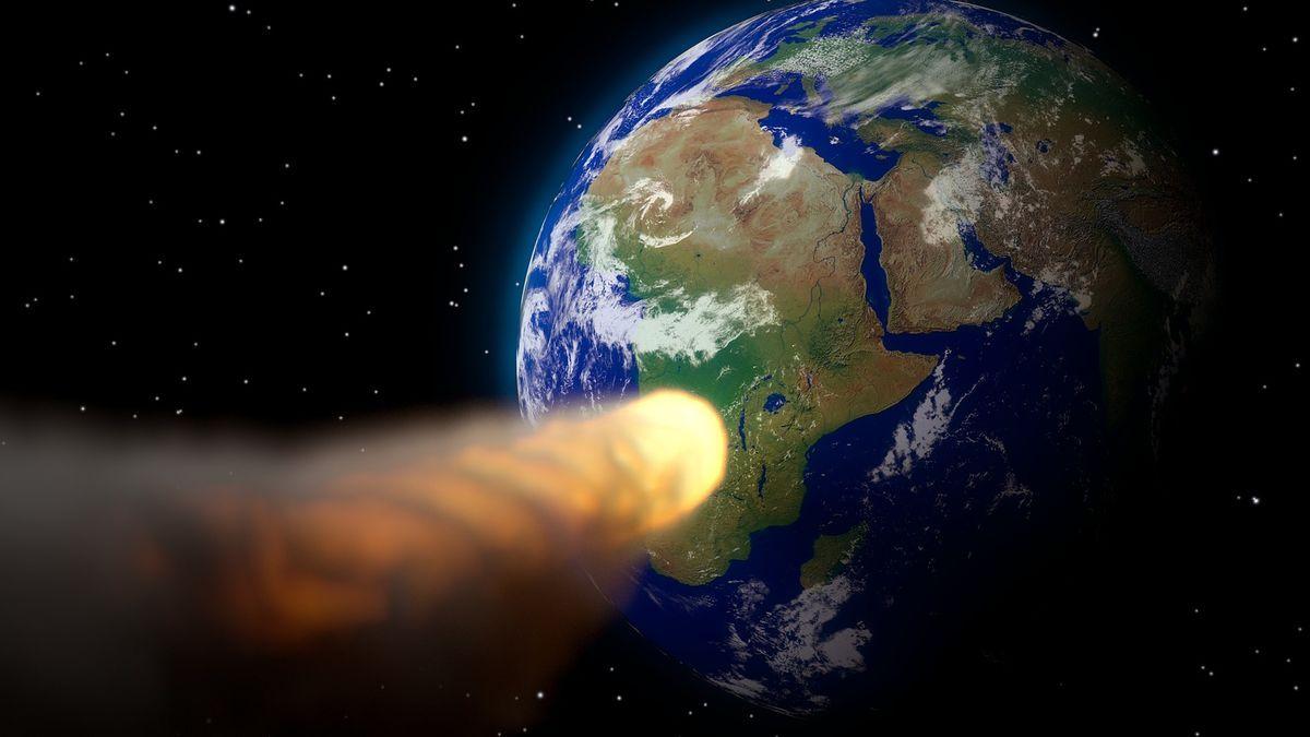 Ένας αστεροειδής κοντά στη Γη που πλησιάζει τον πλανήτη μας.