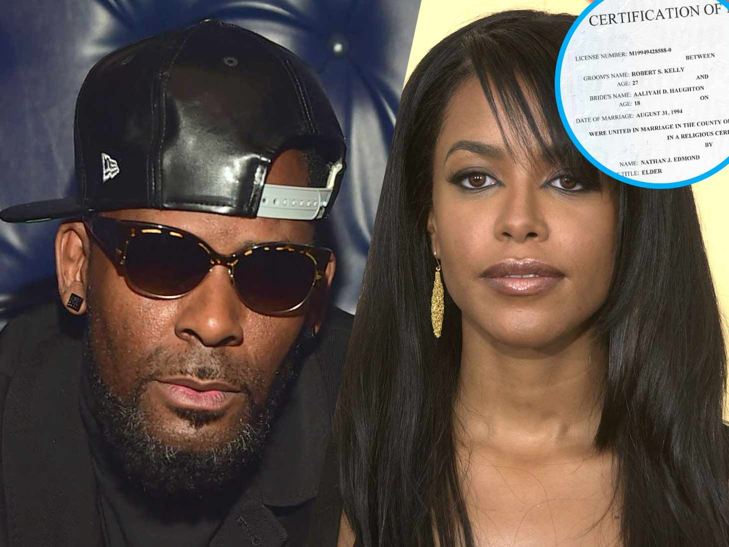 R kelly and aaliyah relationship