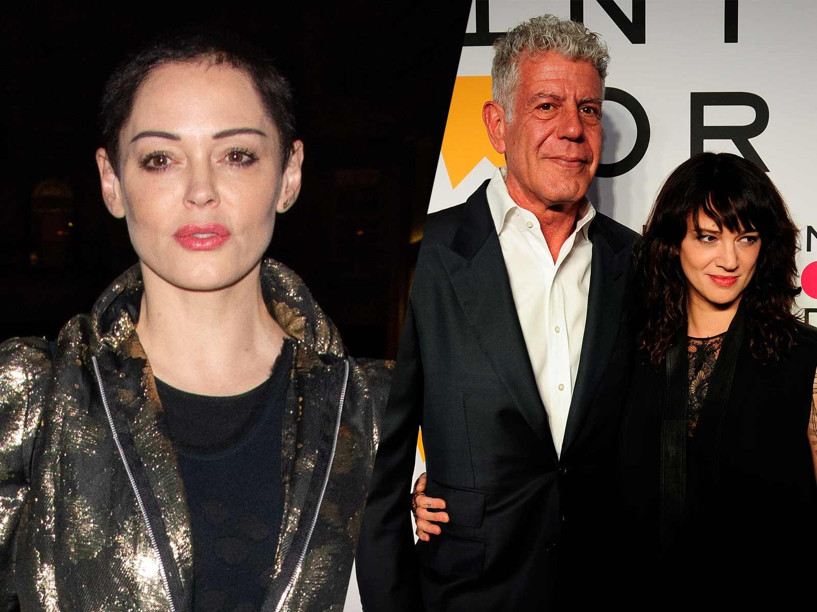 Rose McGowan, Asia Argento Ask People Not to Assign 'Blame