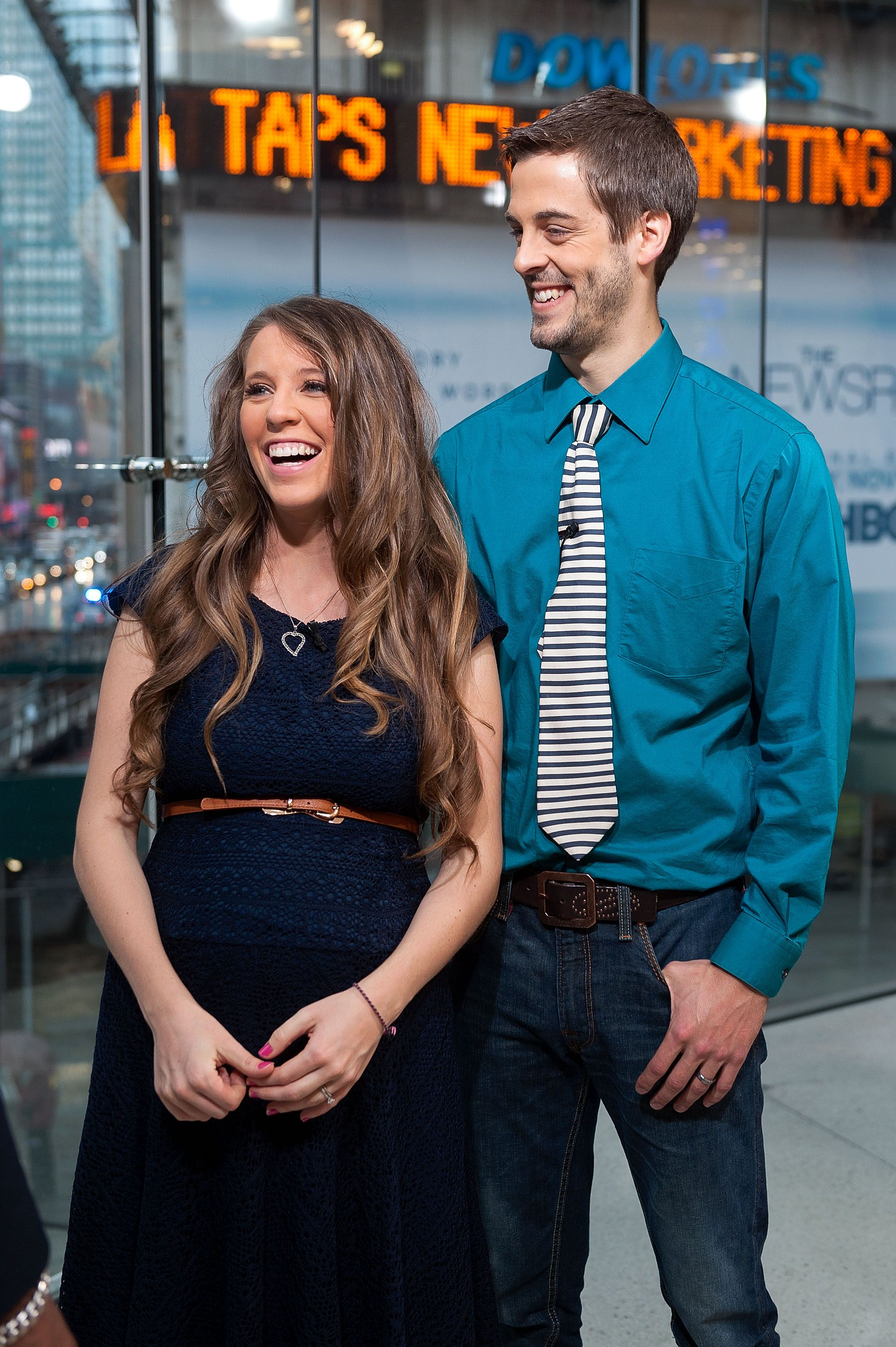 Jill Duggar with her husband