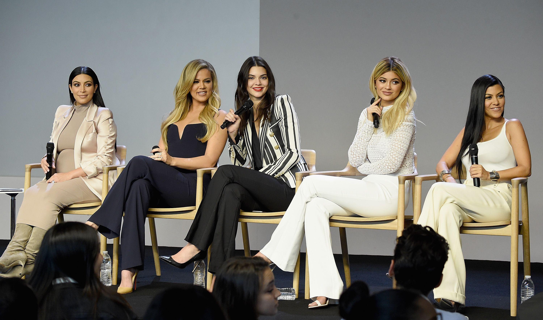 Kim Kardashian, Khloe Kardashian, Kendall Jenner, Kylie Jenner, and Kourtney Kardashian