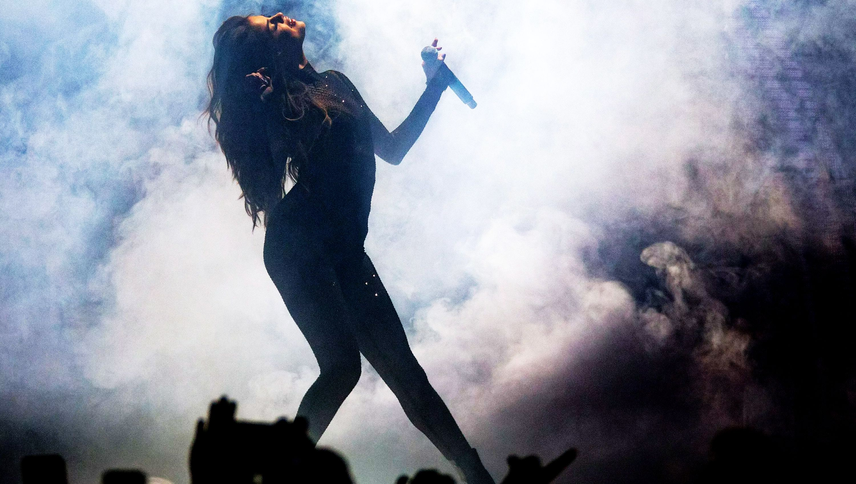 AUBURN HILLS, MI - JUNE 24: Selena Gomez performs during the Revival tour at The Palace of Auburn Hills on June 25, 2016 in Auburn Hills, Michigan.