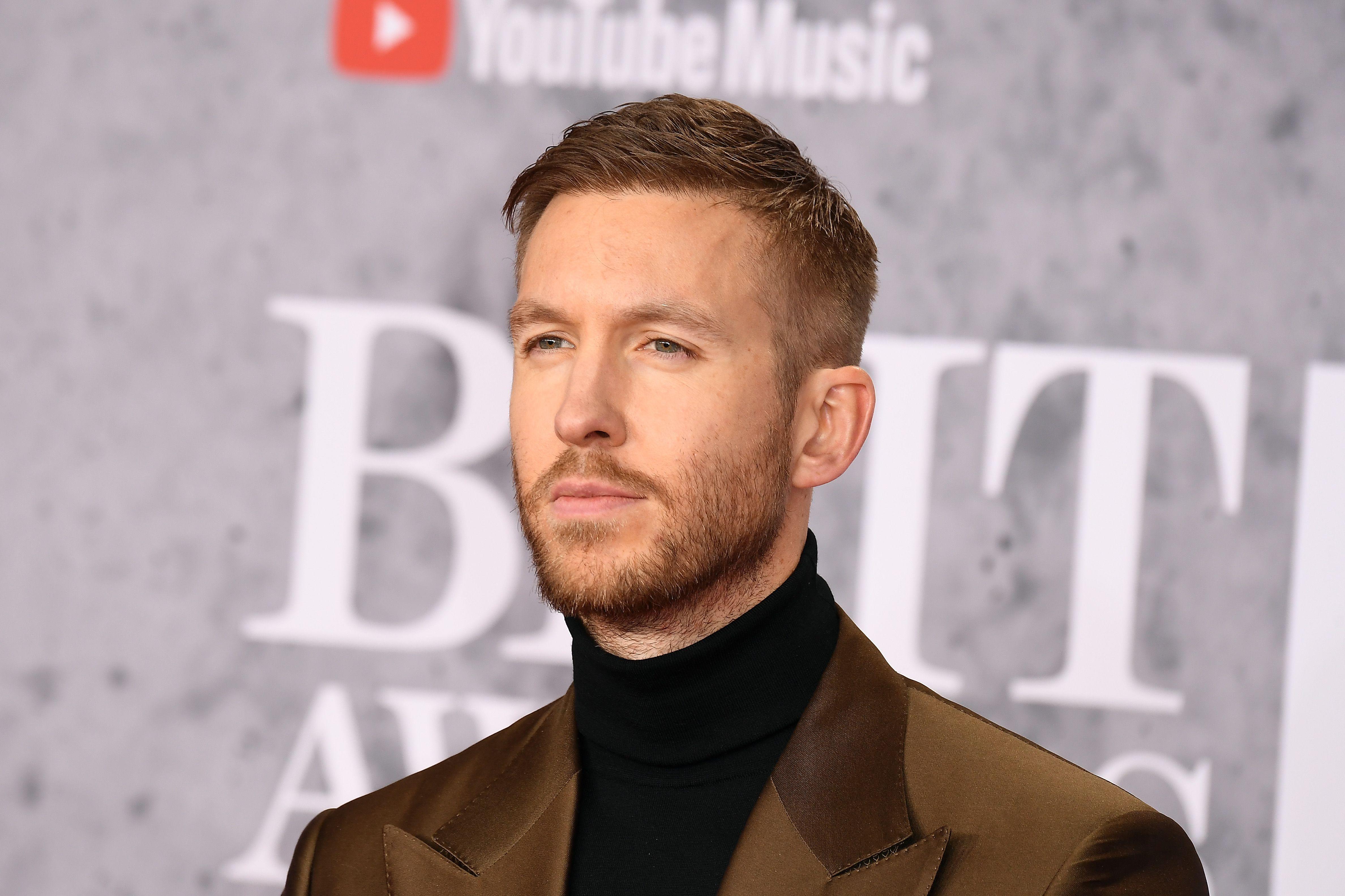 Calvin Harris at an event.