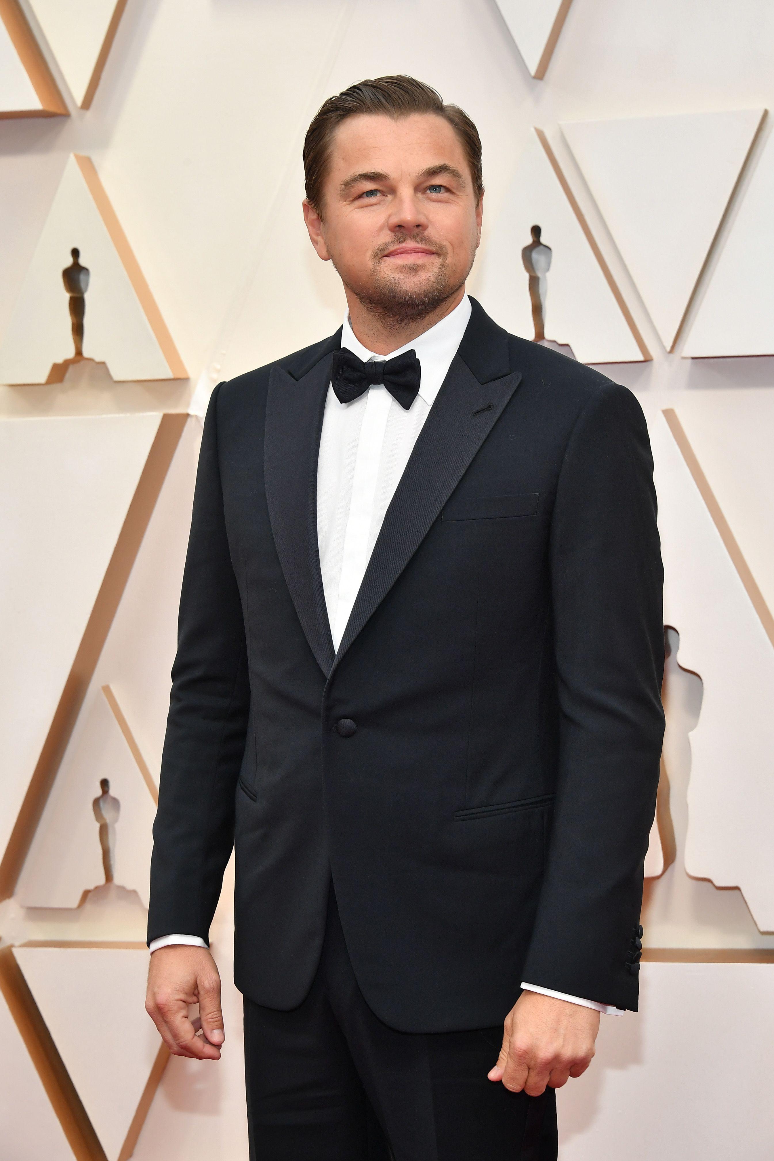 Leonardo DiCaprio in a suit