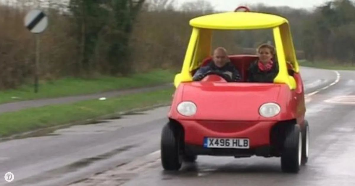 Adult Version Of The Little Tikes Toy Car Is Legal And It Goes Up To 70MPH
