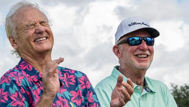 Bill Murray and his brother Ed Murray