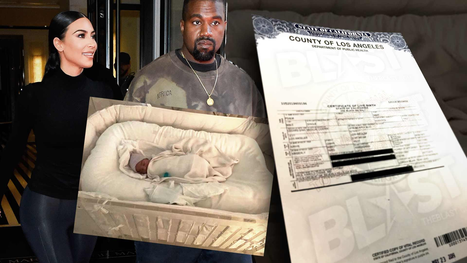 Psalm West's Birth Certificate Reveals He Was Delivered by