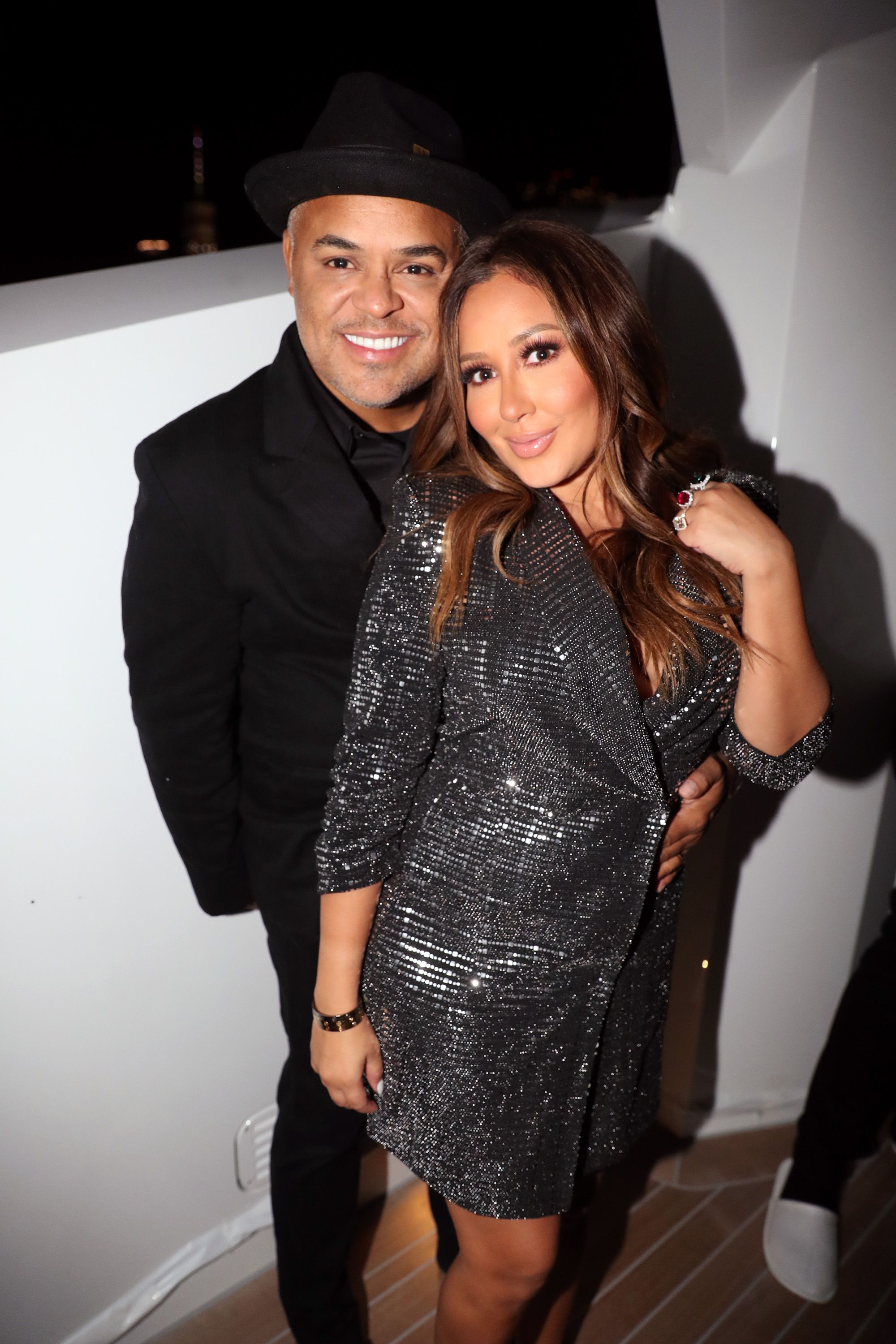 Israel Houghton and Adrienne Bailon