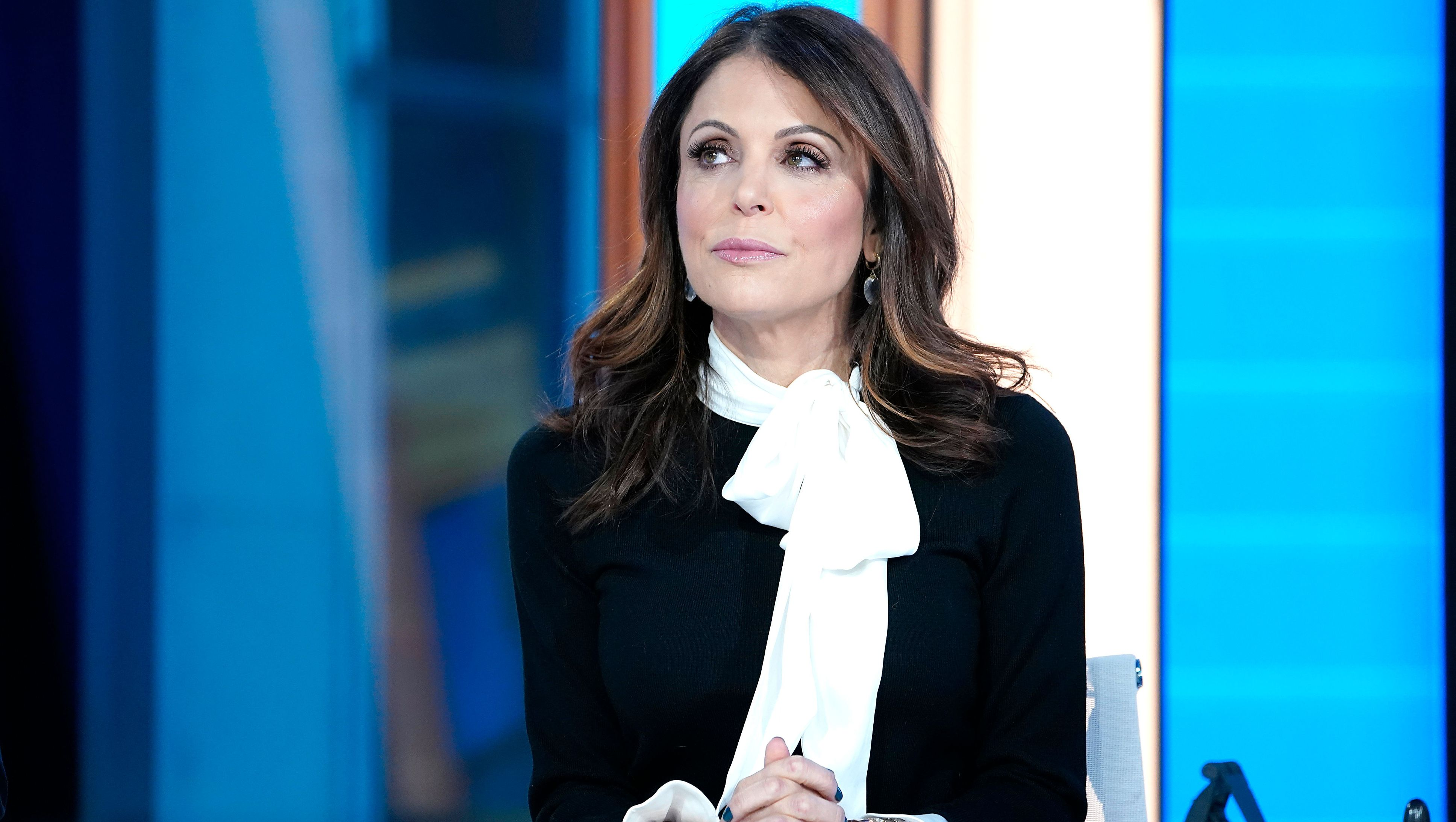 Bethenny Frankel attends a TV appearance.