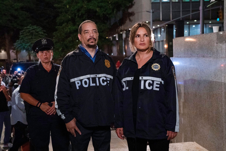 Ice-T and Mariska Hargitay in 'Law & Order: SVU'