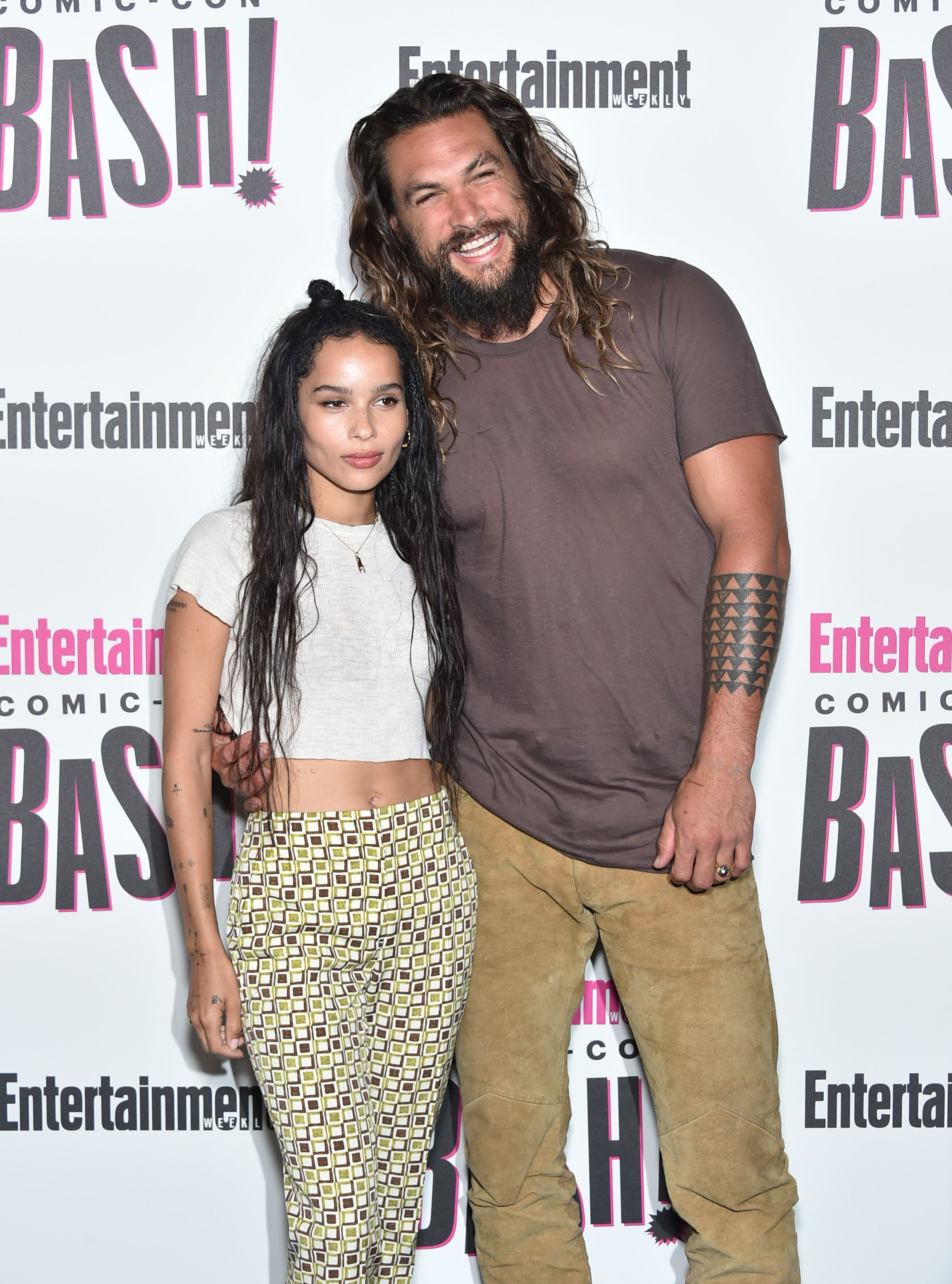 Jason Momoa Is An Adorable Supportive Stepdad Over Zoe