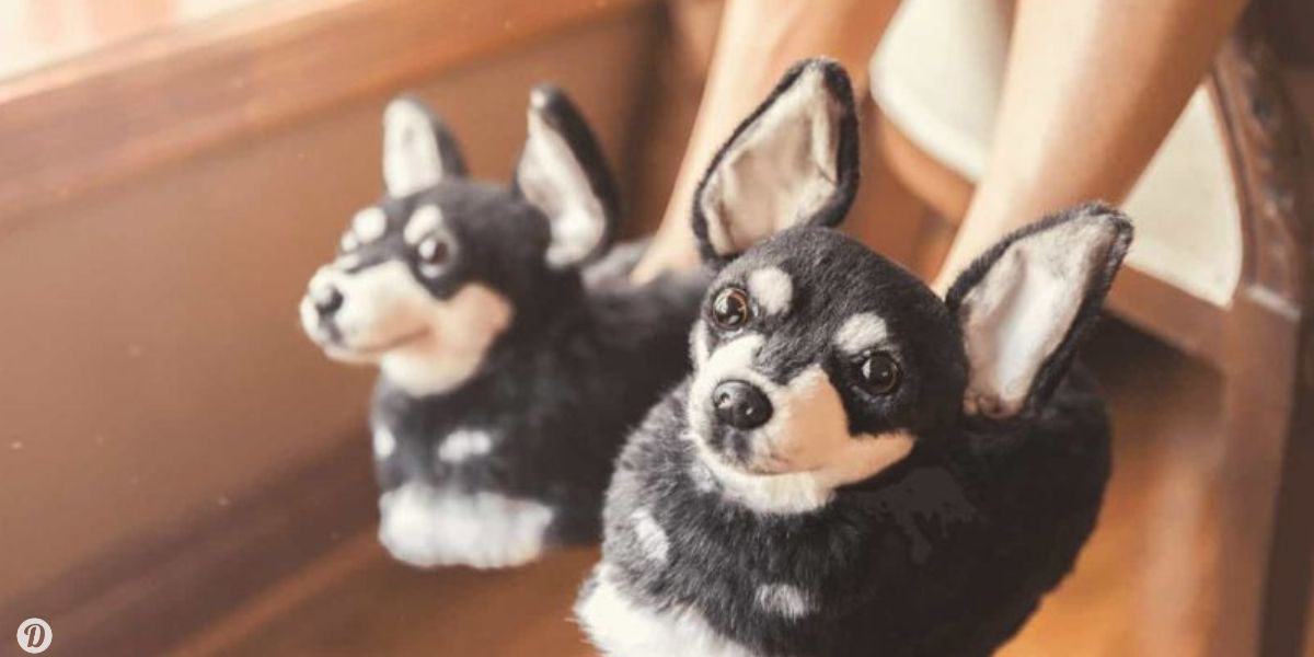Believe It Or Not, You Can Get Custom Slippers That Look Just Like Your Dog