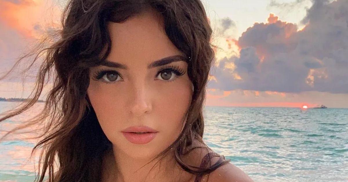 Demi Rose Chases Sunsets In Skimpy Snakeskin Bikini - The Blast