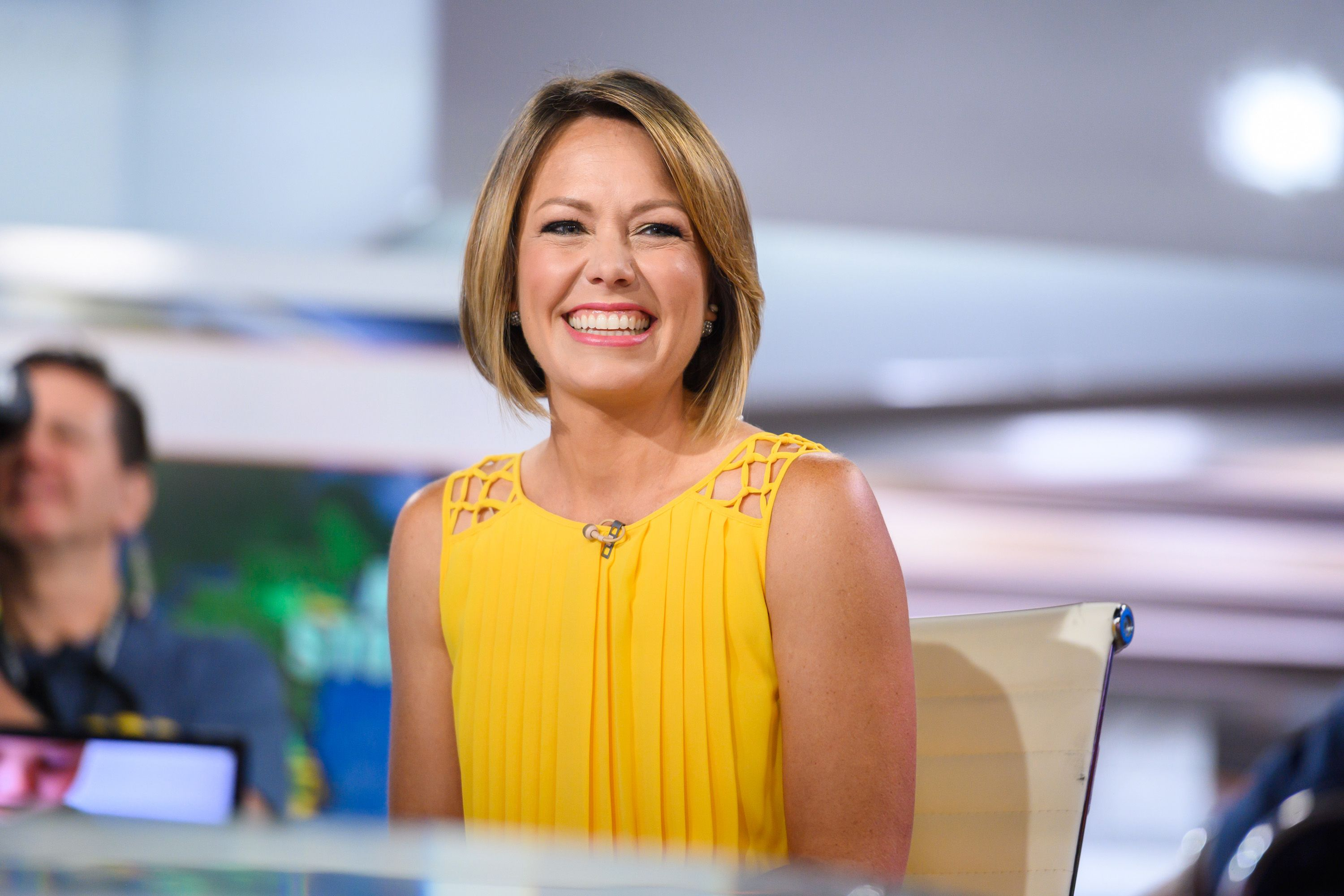 Today Show' Host Dylan Dreyer Gets Encouragement While On ...