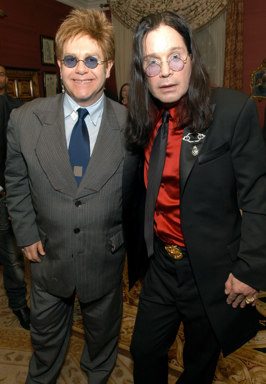 Elton John and Ozzy Osbourne