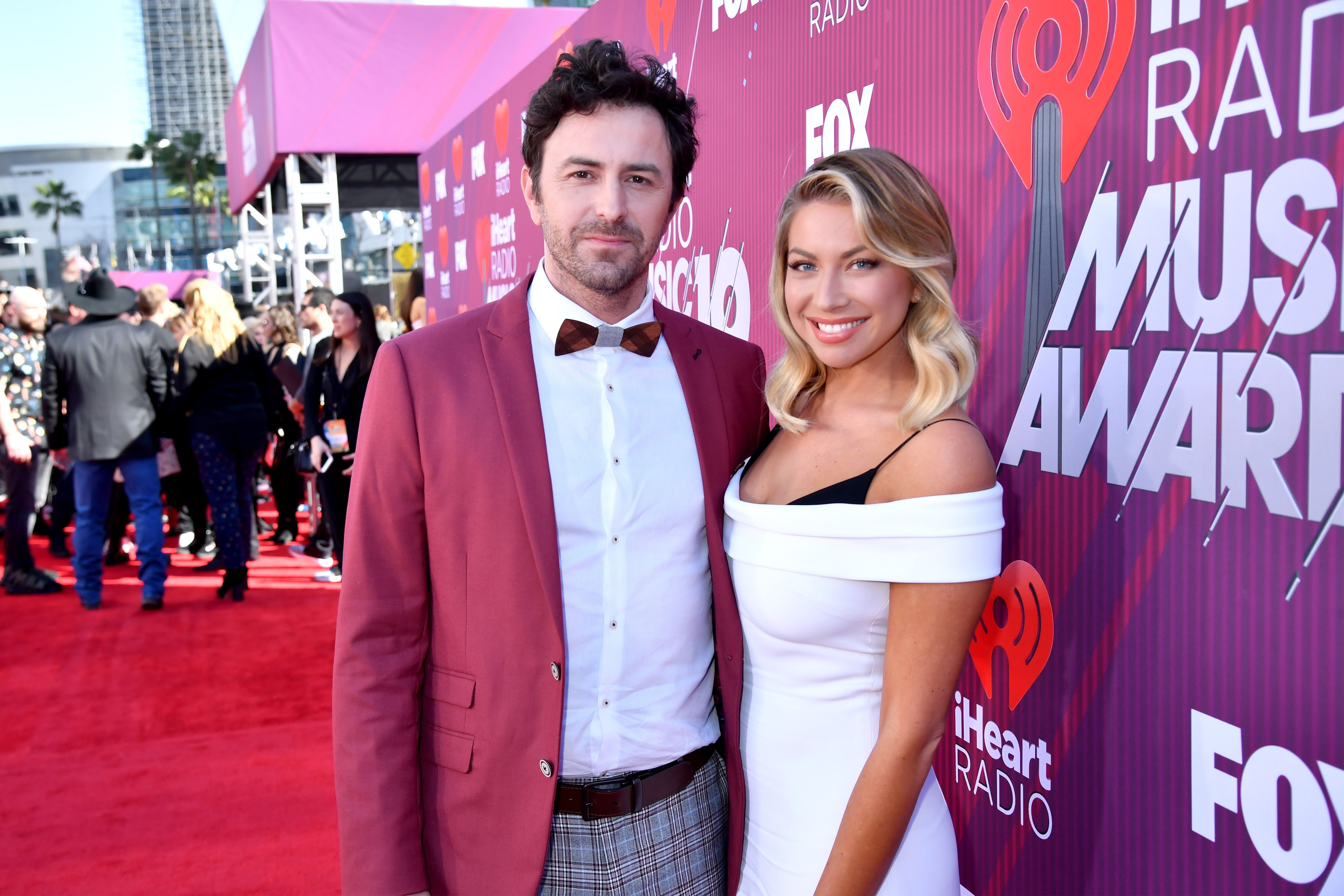 Beau Clark and Stassi Schroeder at iHeartRadio Music Awards