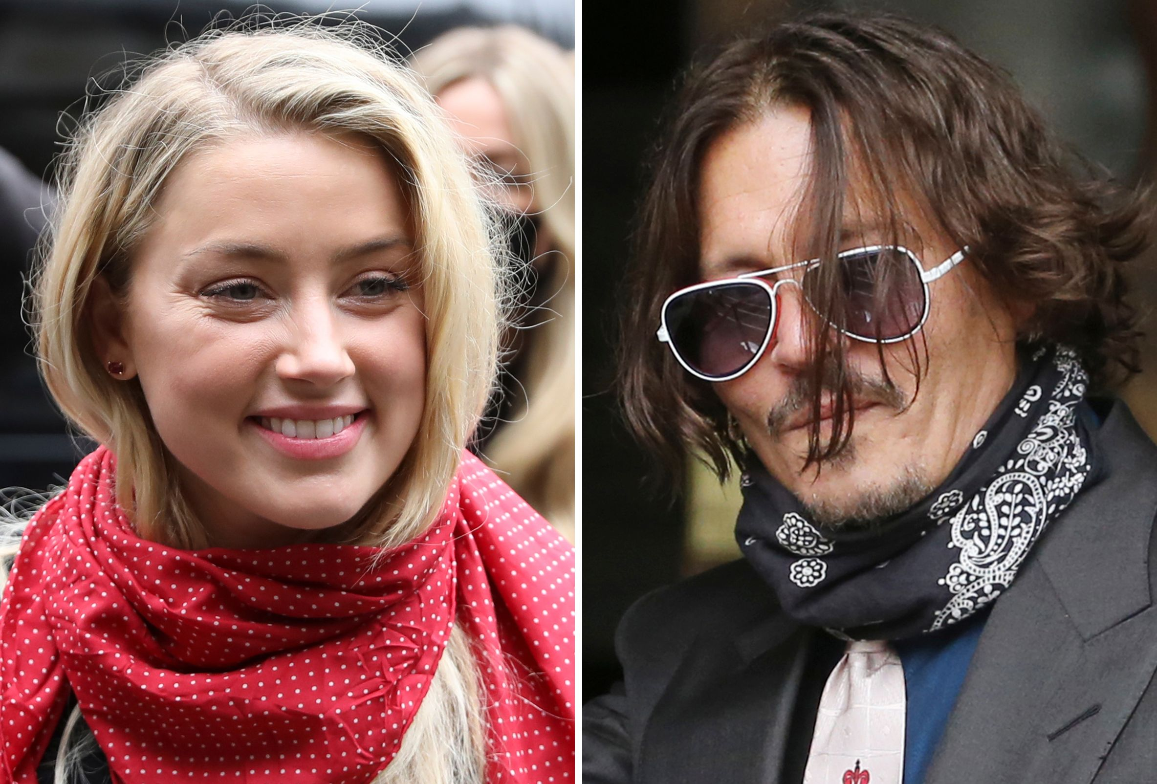 Amber Heard in London and Johnny Depp