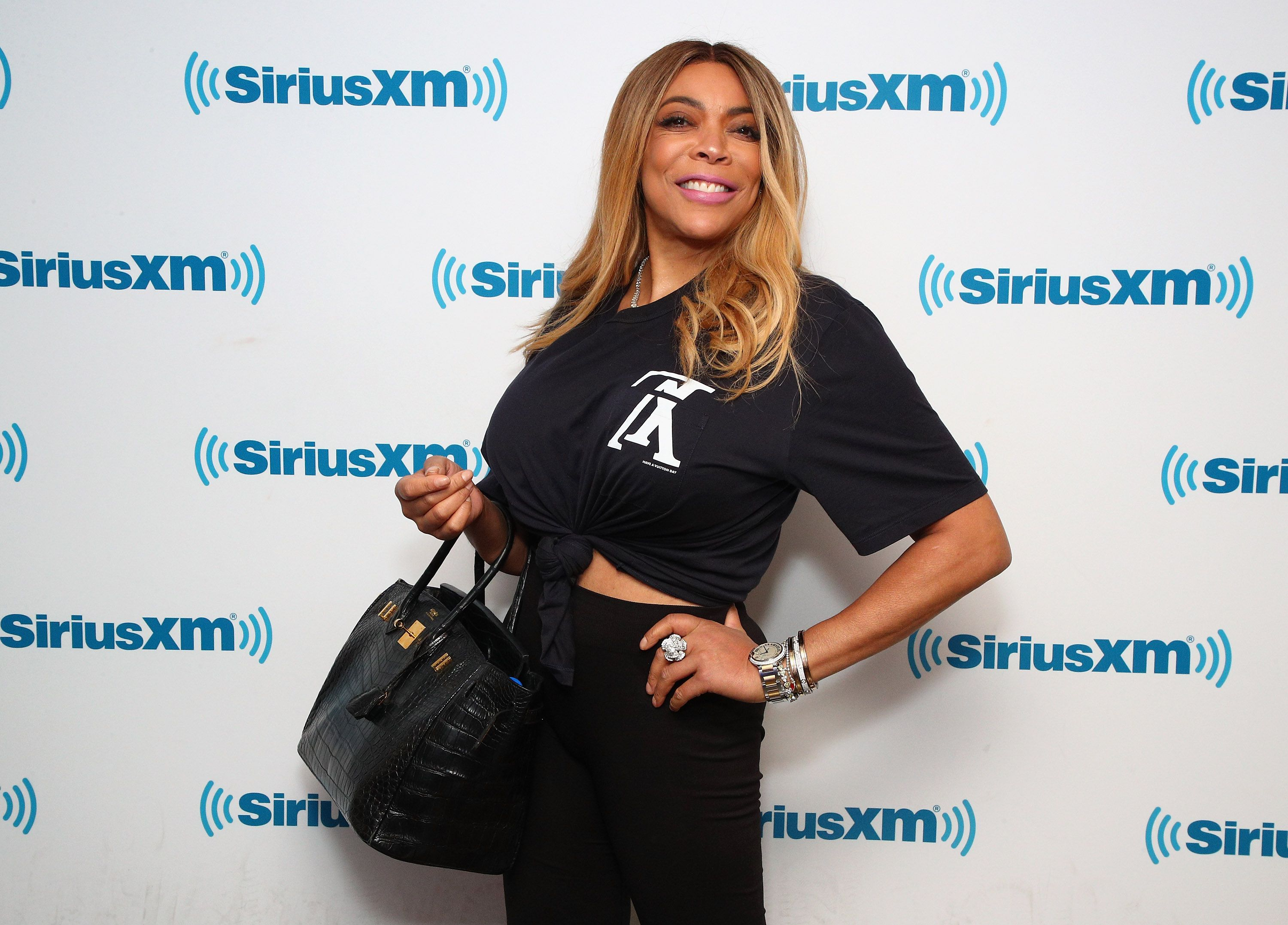 Wendy Williams at a SiriusXM event