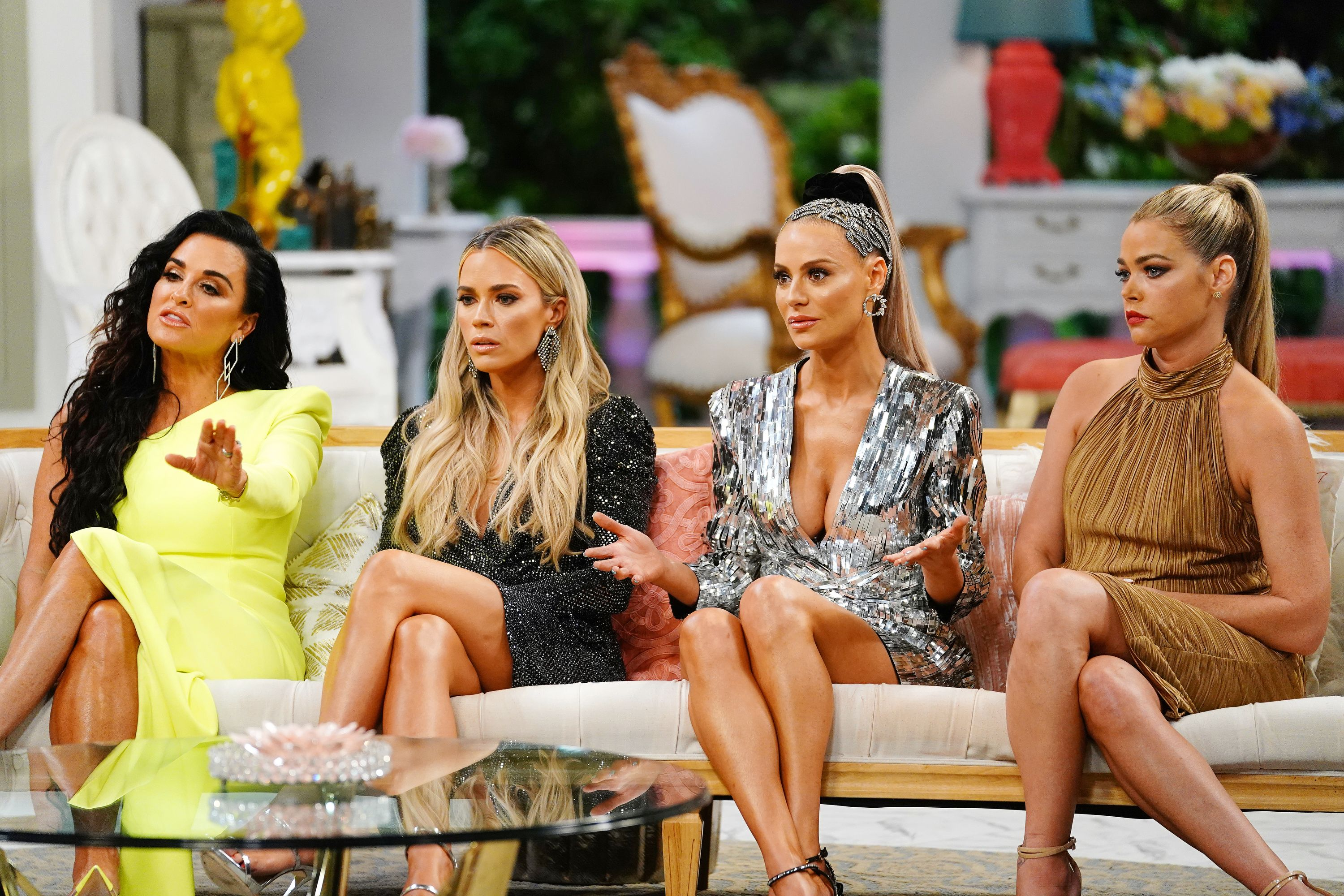 The cast of the Real Housewives of Beverly Hill season 9 reunion