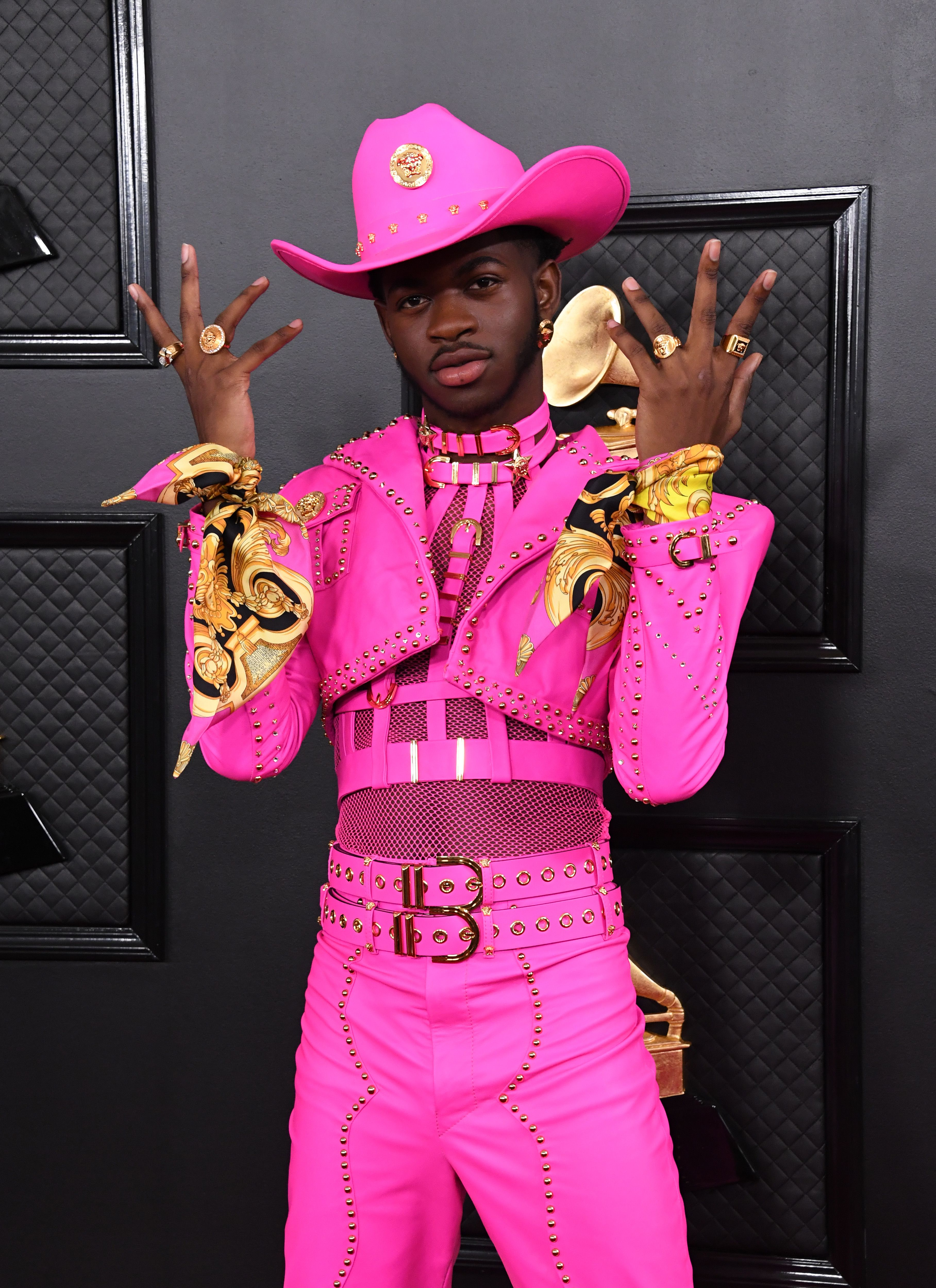 Lil Nas X at the 2020 Grammys.