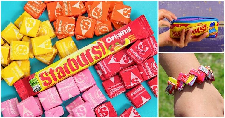 6 Starburst DIYs That Every '90s Kid Will Totally Want