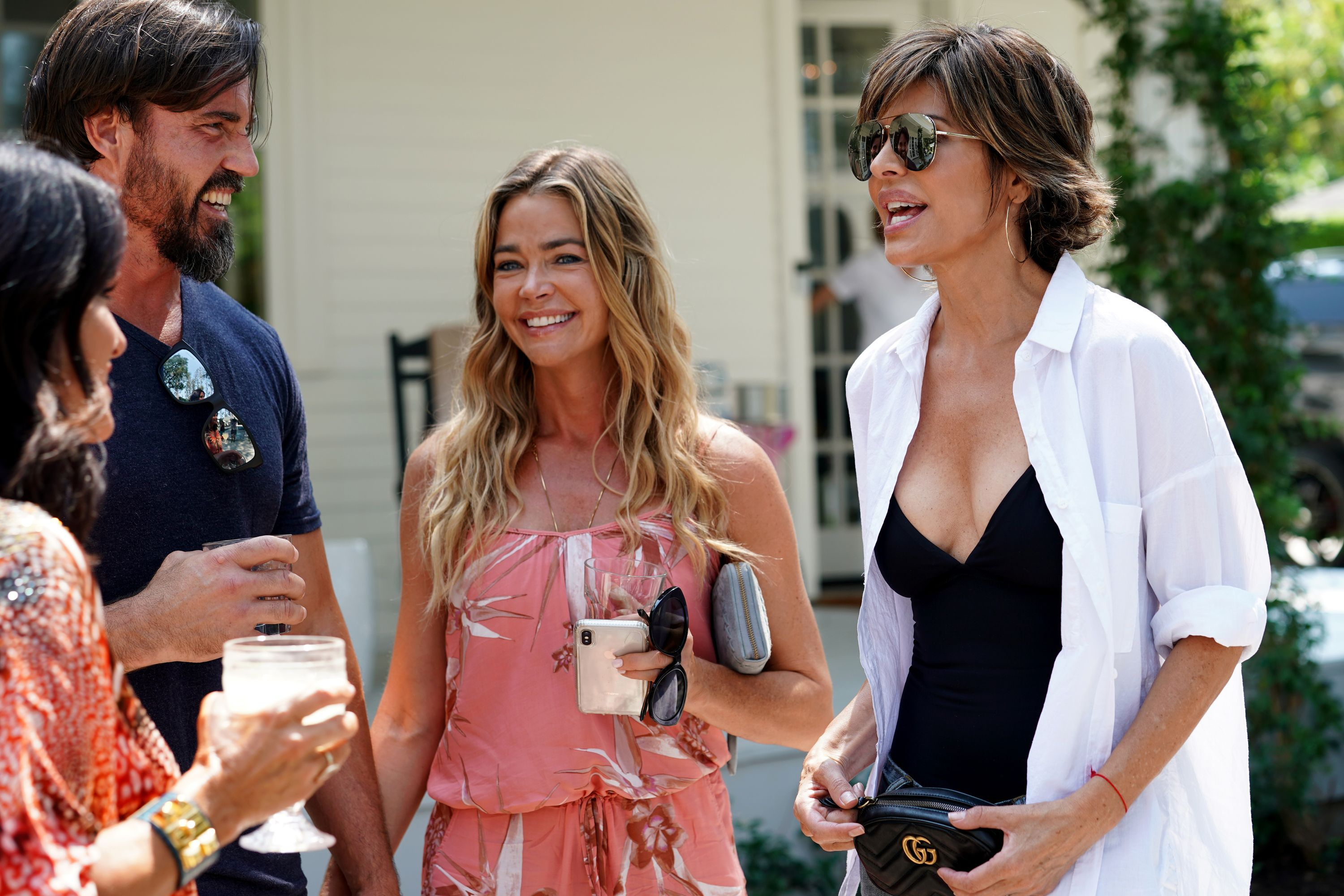 Denise Richards and Lisa Rinna