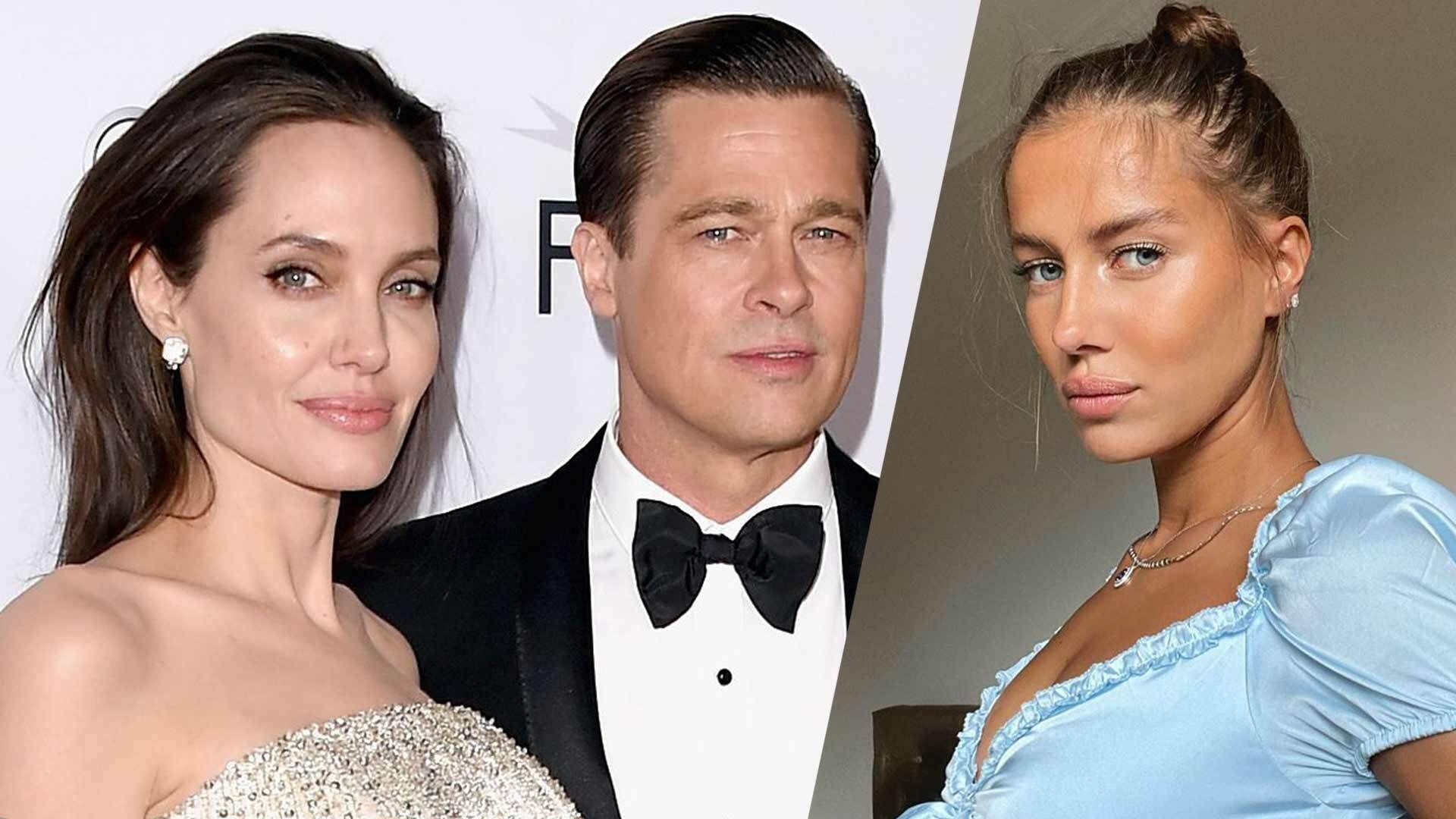 Brad Pitt Angelina Jolie Back Together To Sell Rosé Amid His New Romance With 27 Year Old Model