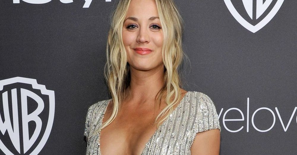 Kaley Cuoco Vacuums Garage Gym In Skimpy Surprise