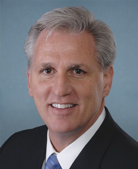 A headshot of House Minority Leader Kevin McCarthy.