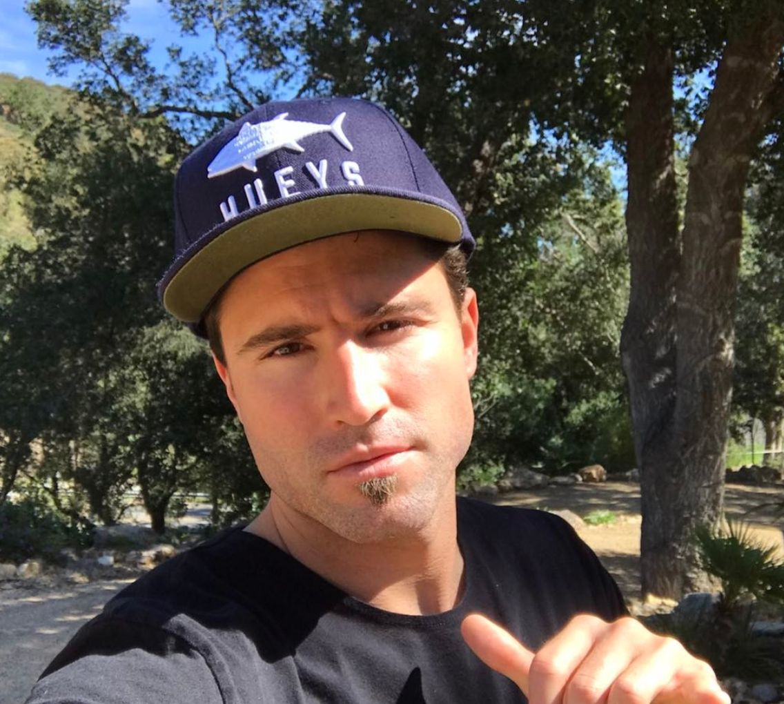 Selfie of Brody Jenner outdoors, wearing a hat.