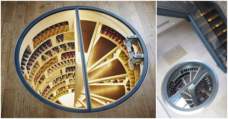 This Company Will Build A Wine Cellar With A Spiral ...