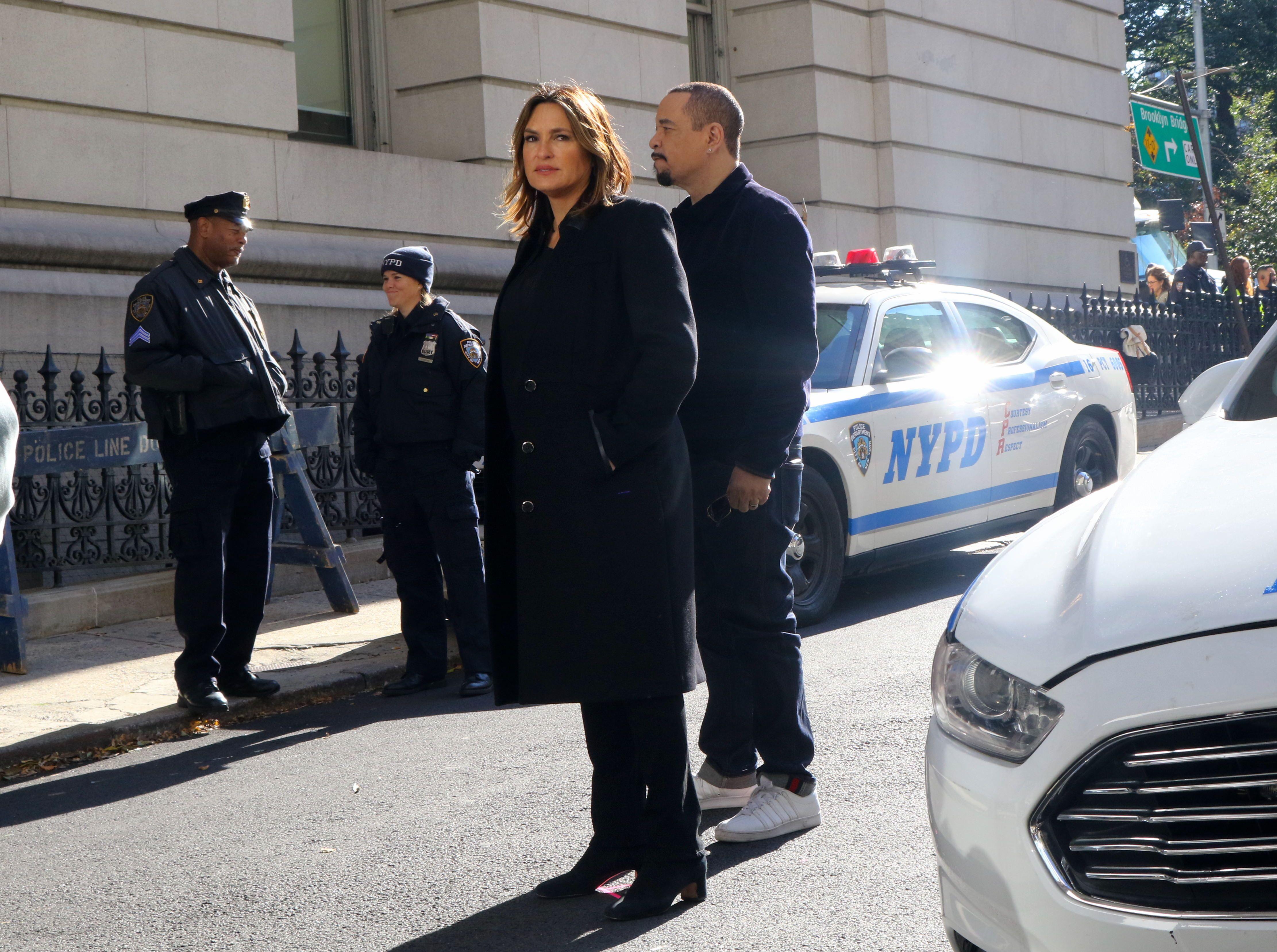 Mariska Hargitay and Ice-T in 'Law and Order: SVU'