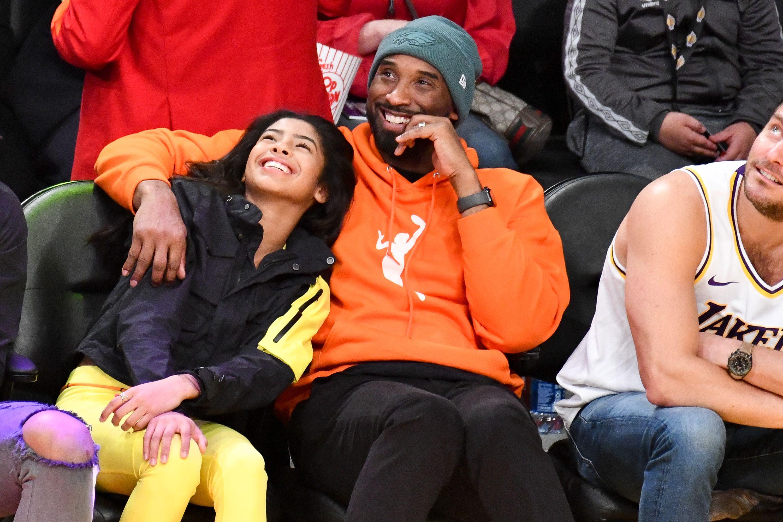 Kobe Bryant with Daughter Gianna