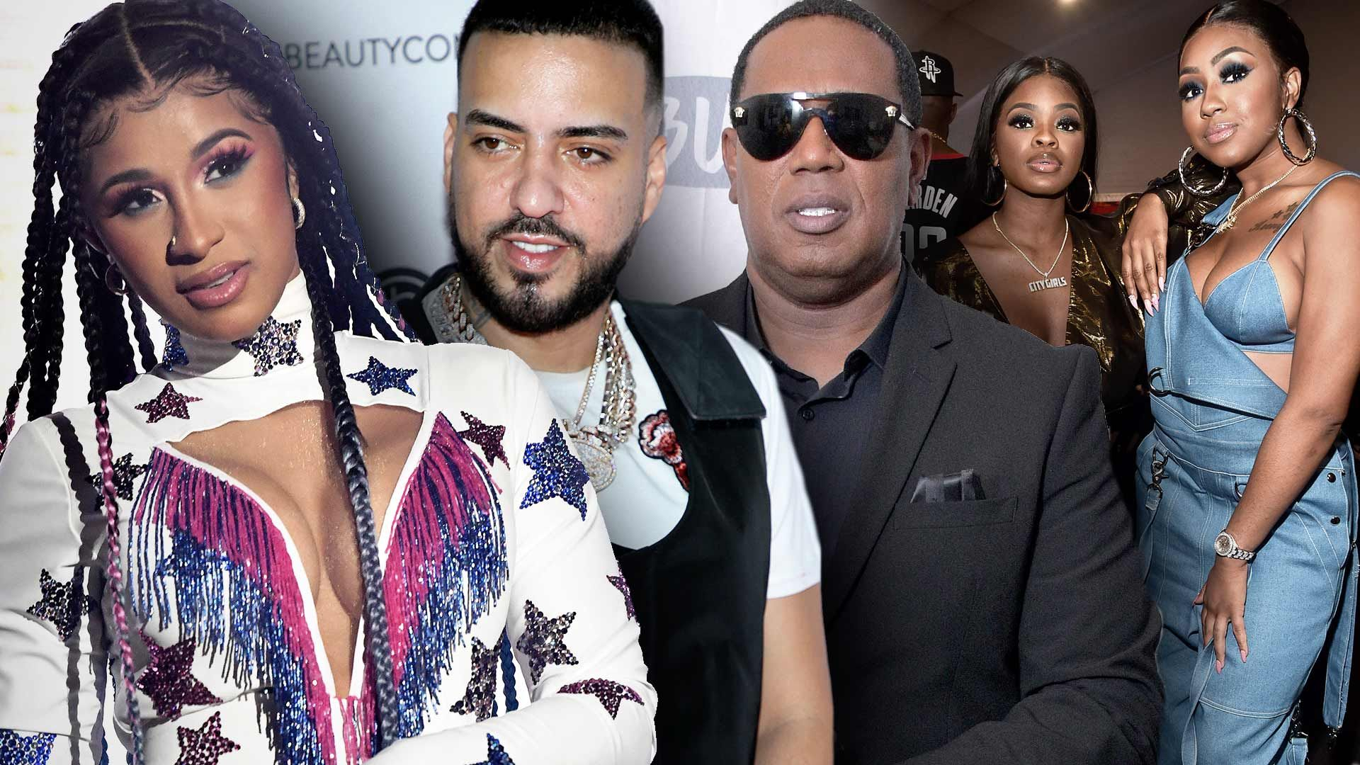 Cardi B, Master P, French Montana and More Sued for