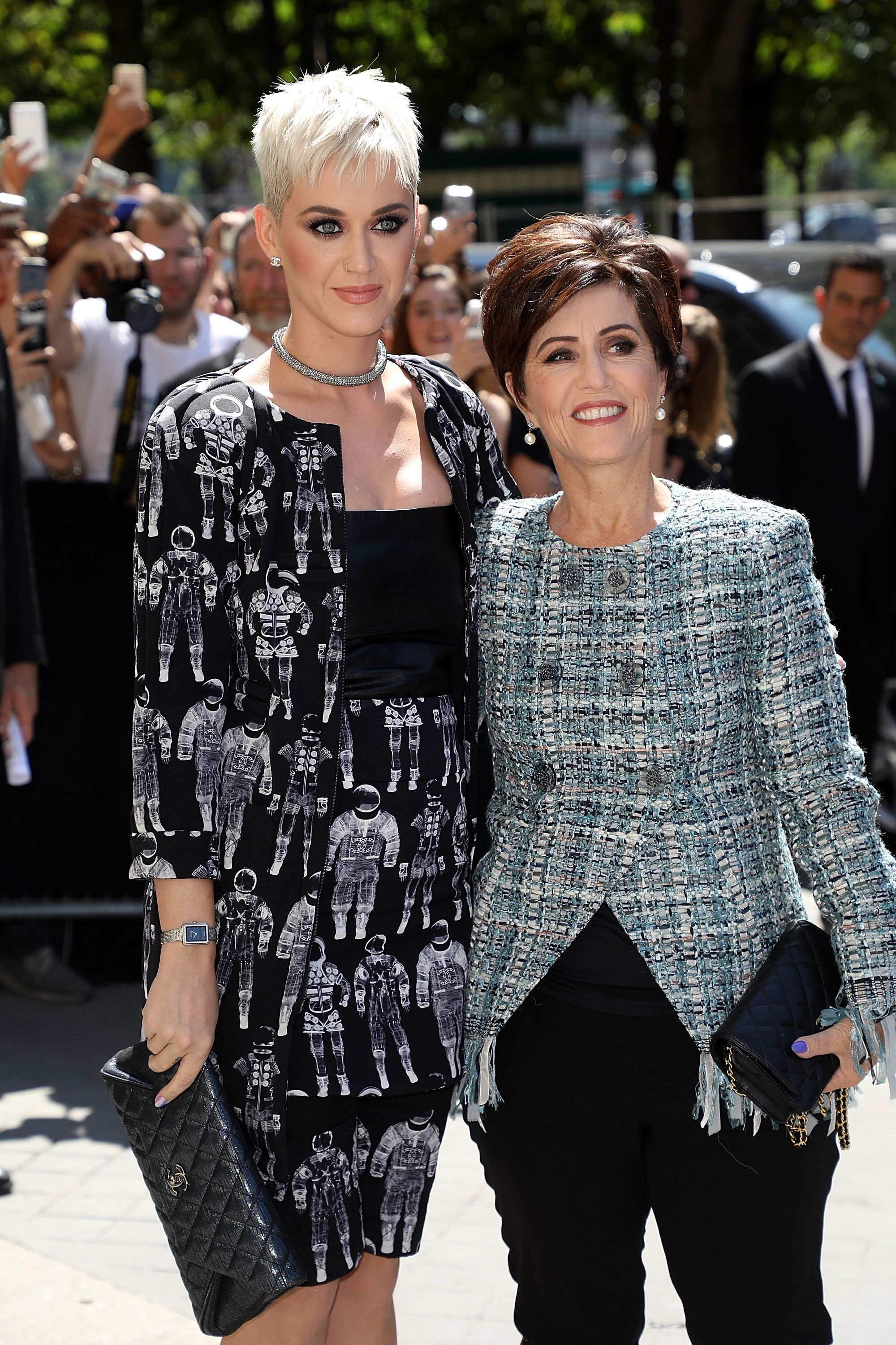 Katy Perry and mom.