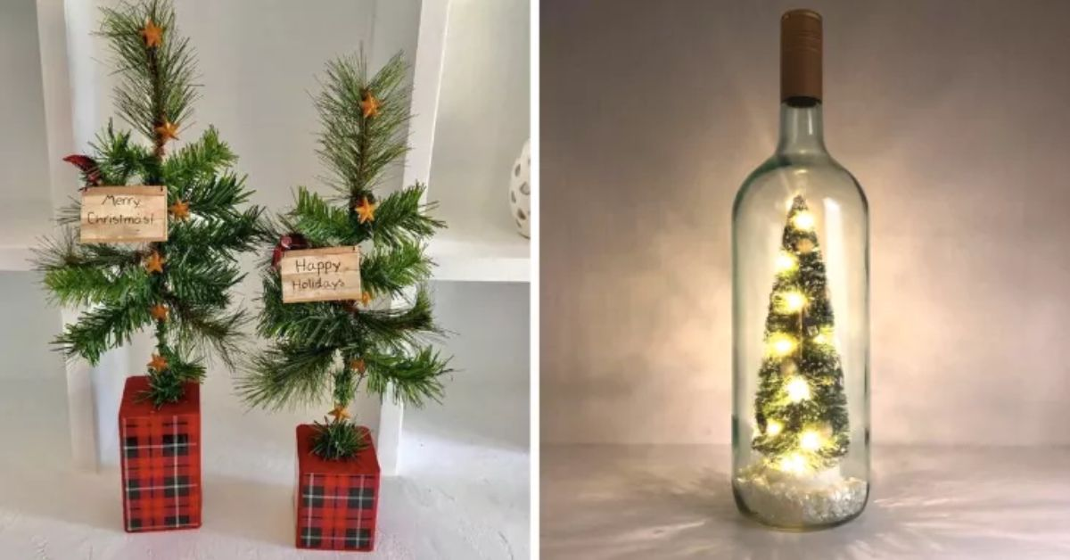 11 Alternative Christmas Trees That Are Perfect For Small Spaces