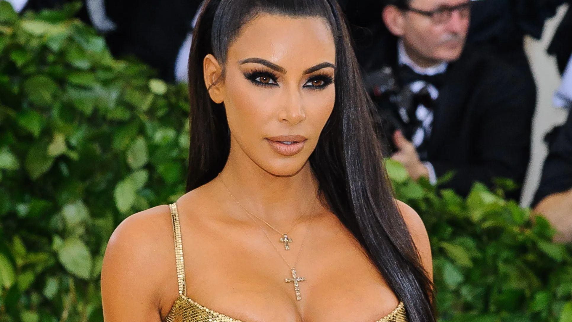 Kim Kardashian at the MET Gala 2019