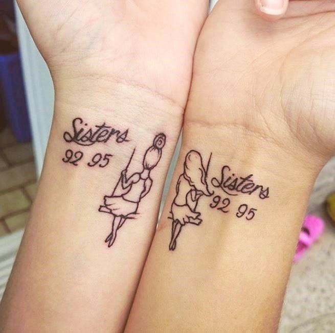 16 Sister Tattoos You Ll Want To Get With Your Favorite Sibling