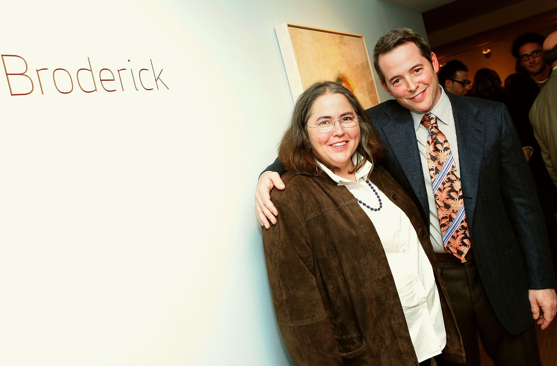 Janet Broderick and Matthew Broderick