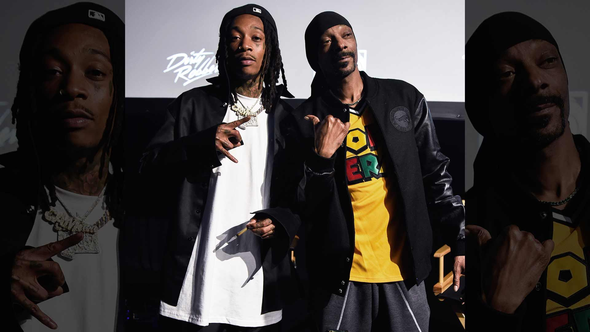 Wiz Khalifa Lights Up With Snoop Dogg For 'Behind The Cam