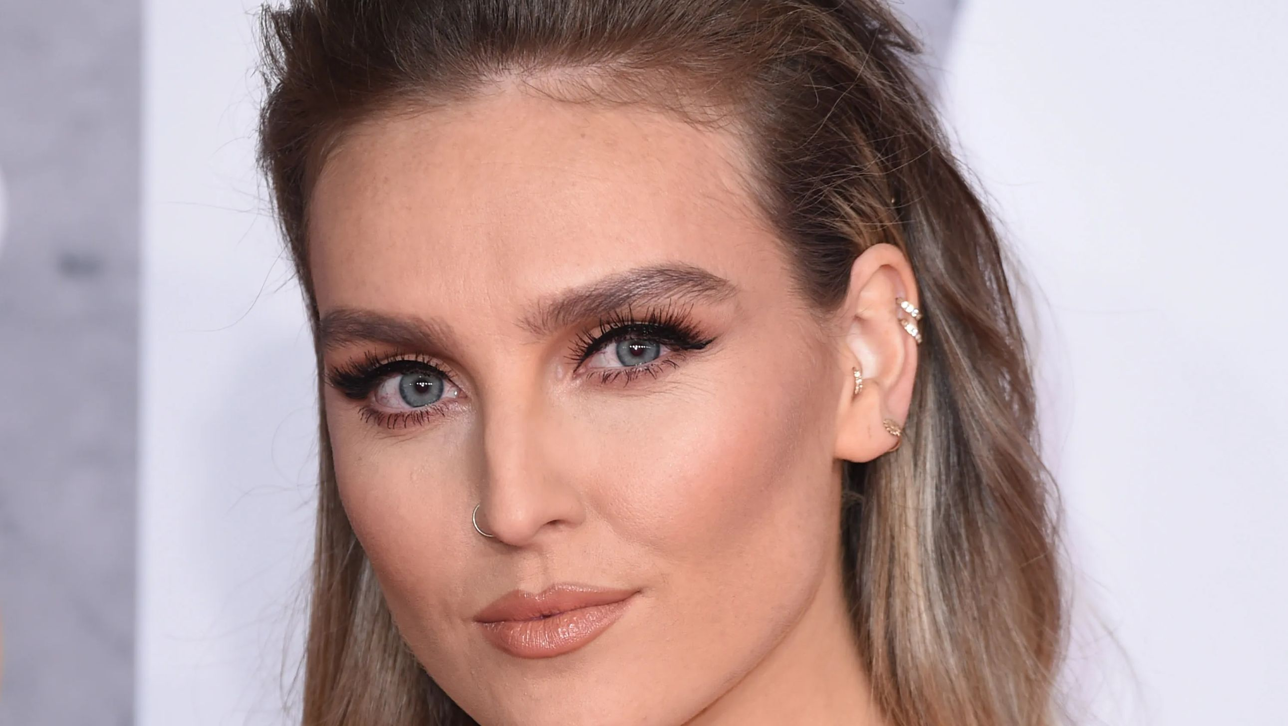 Perrie Edwards smolders in the camera