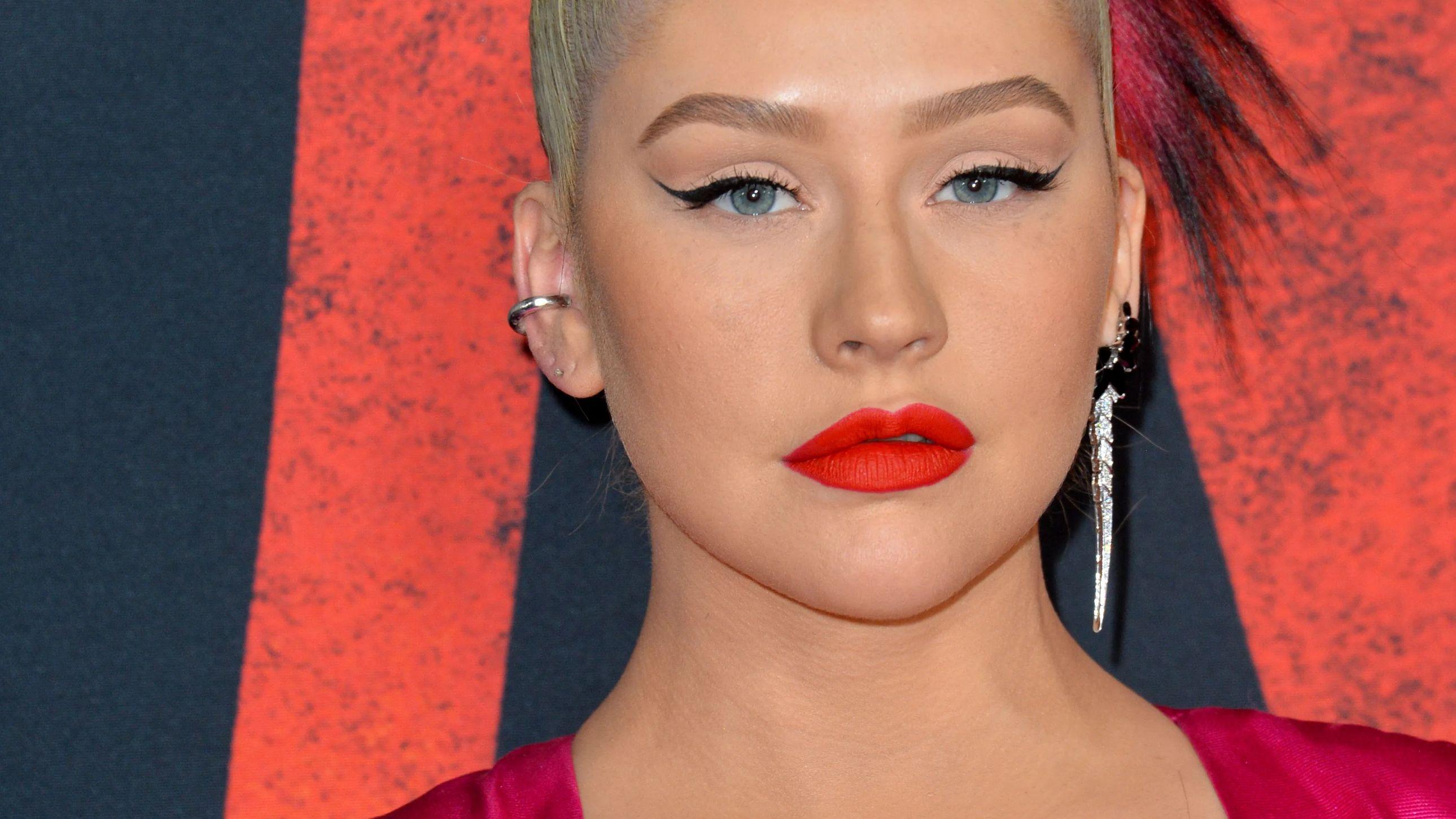 Christina Aguilera at an event