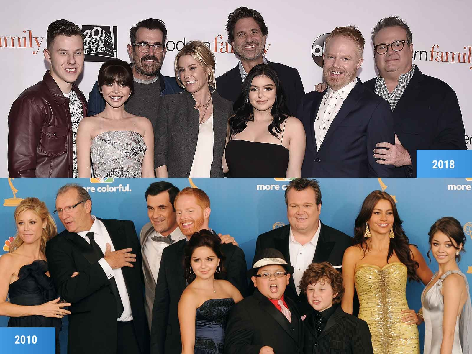 A Modern Family modern family' stars are all grown up! see how much the cast
