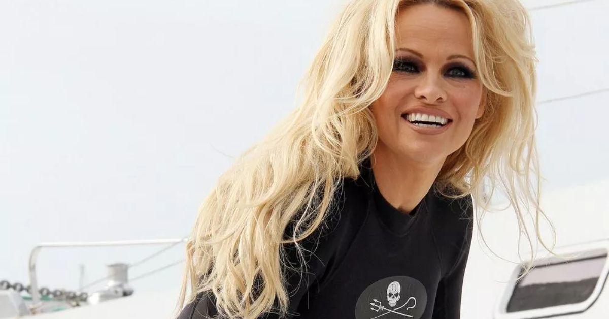 UkhYVWVRMTJQV2g4TW84REFDSVAuanBn Pamela Anderson Needs Help In Bikini From A Cage 8211 The Blast