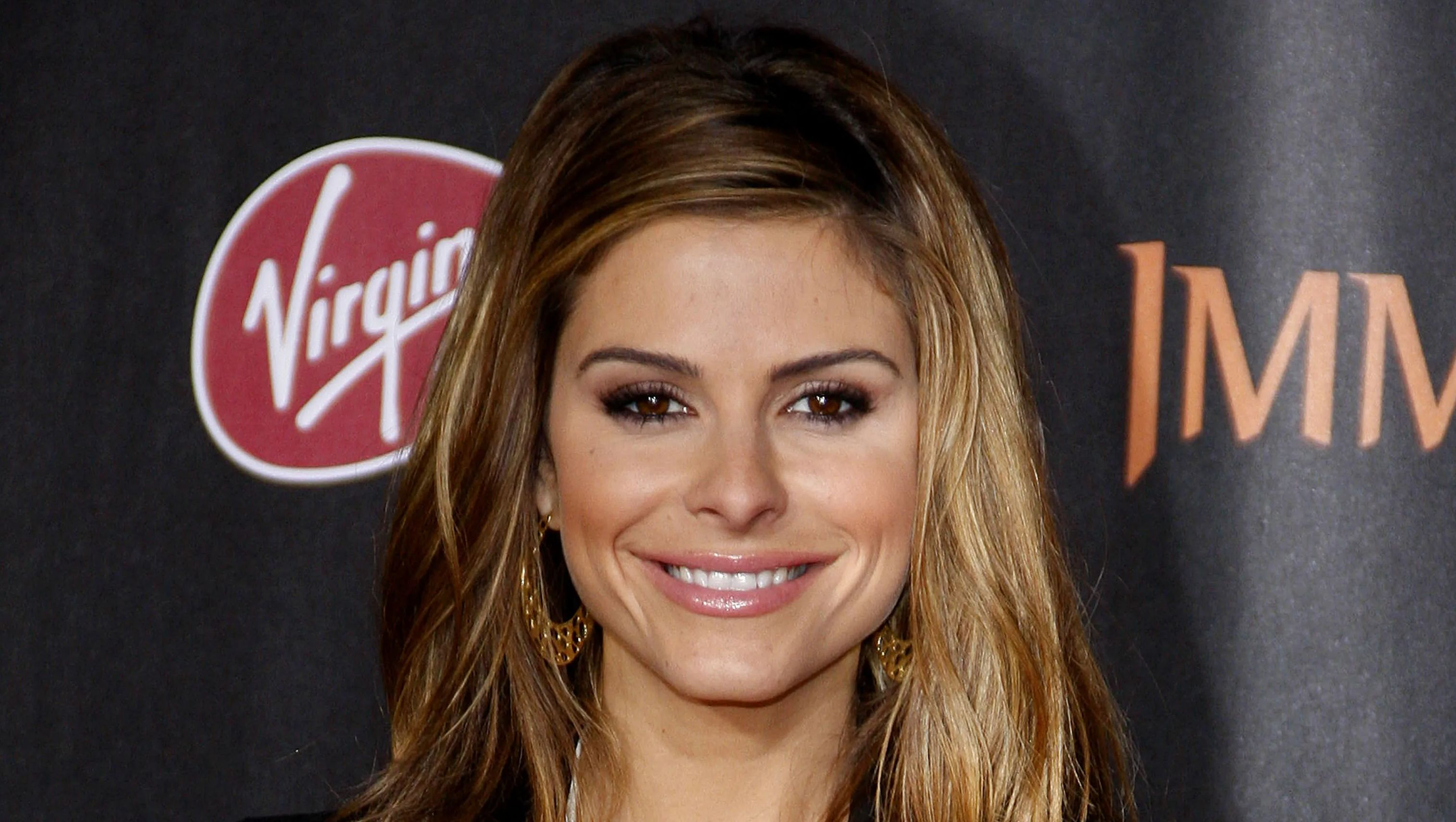 Maria Menounos on red carpet
