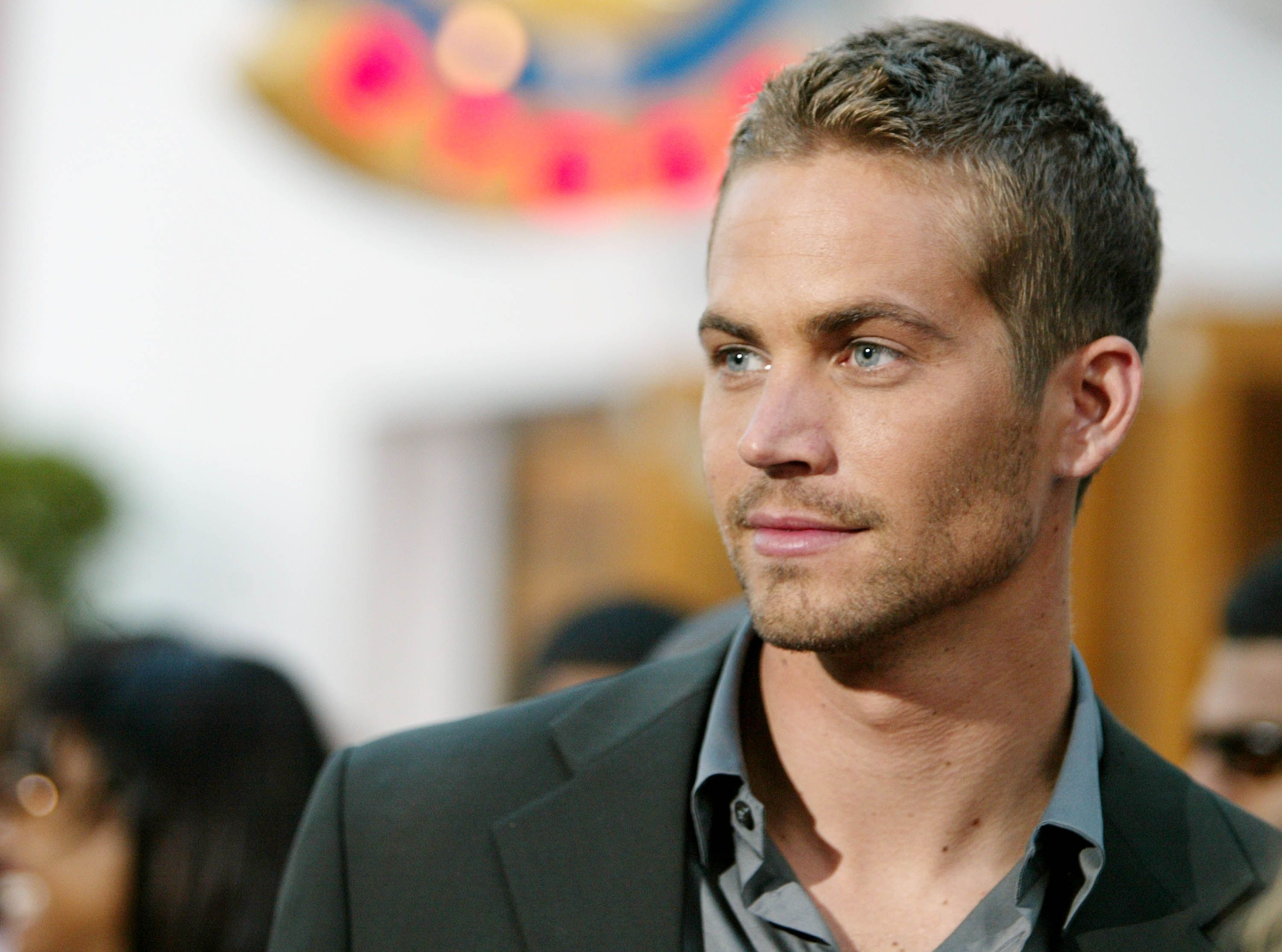 Paul Walker looks dazzling in this up-close photo by a paparazzi.