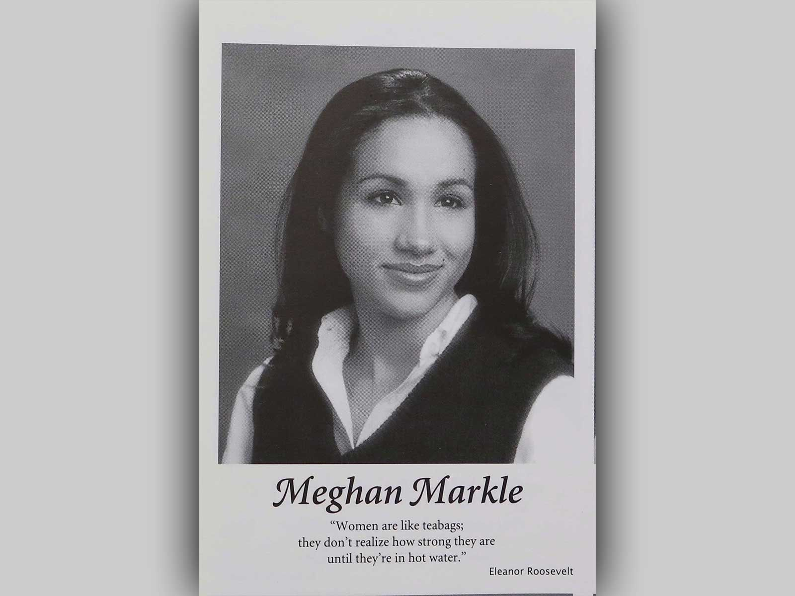 Meghan Markle\'s High School Yearbook Quote: \'Women Are Like ...