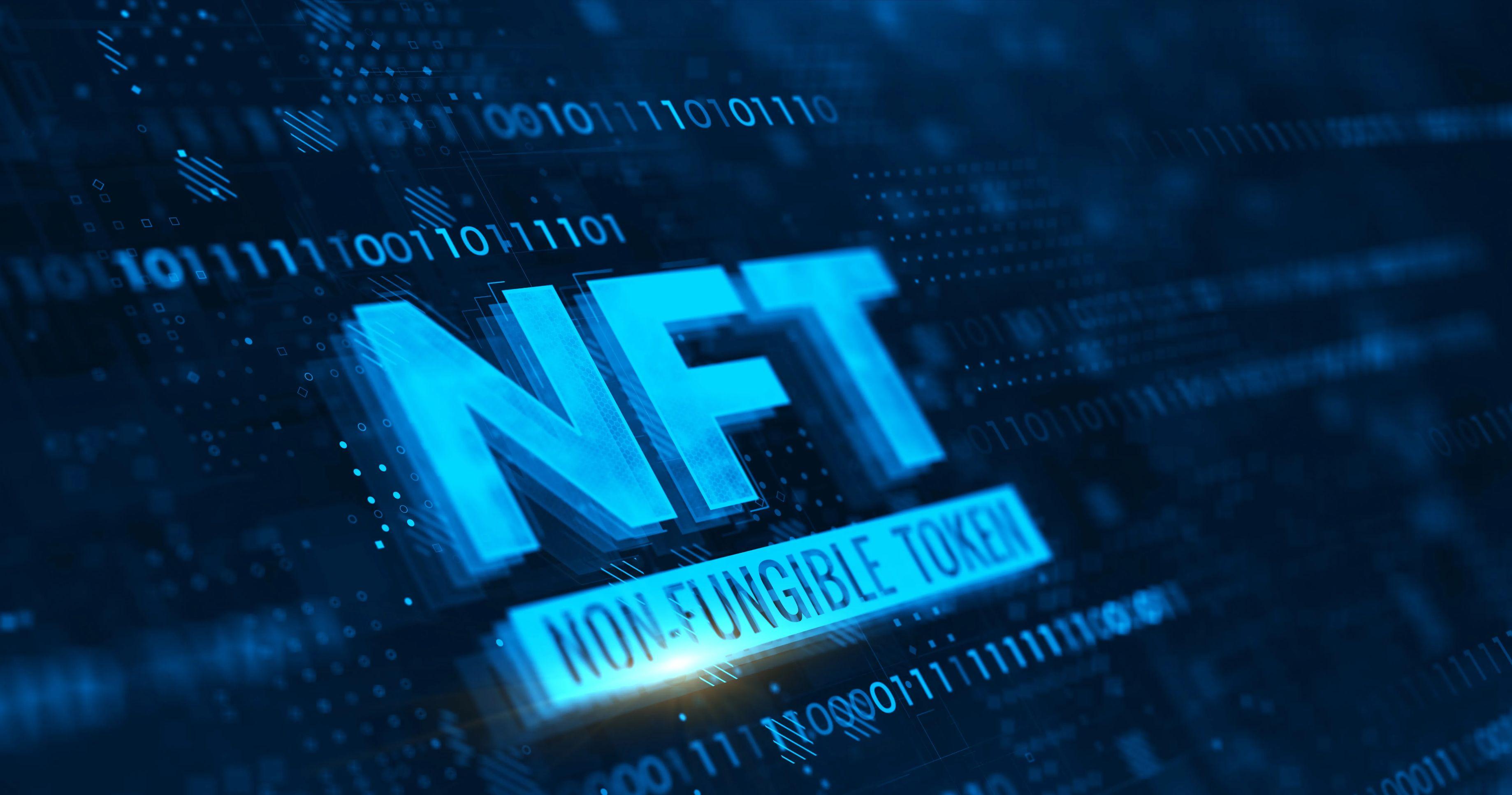 NFT stock photo