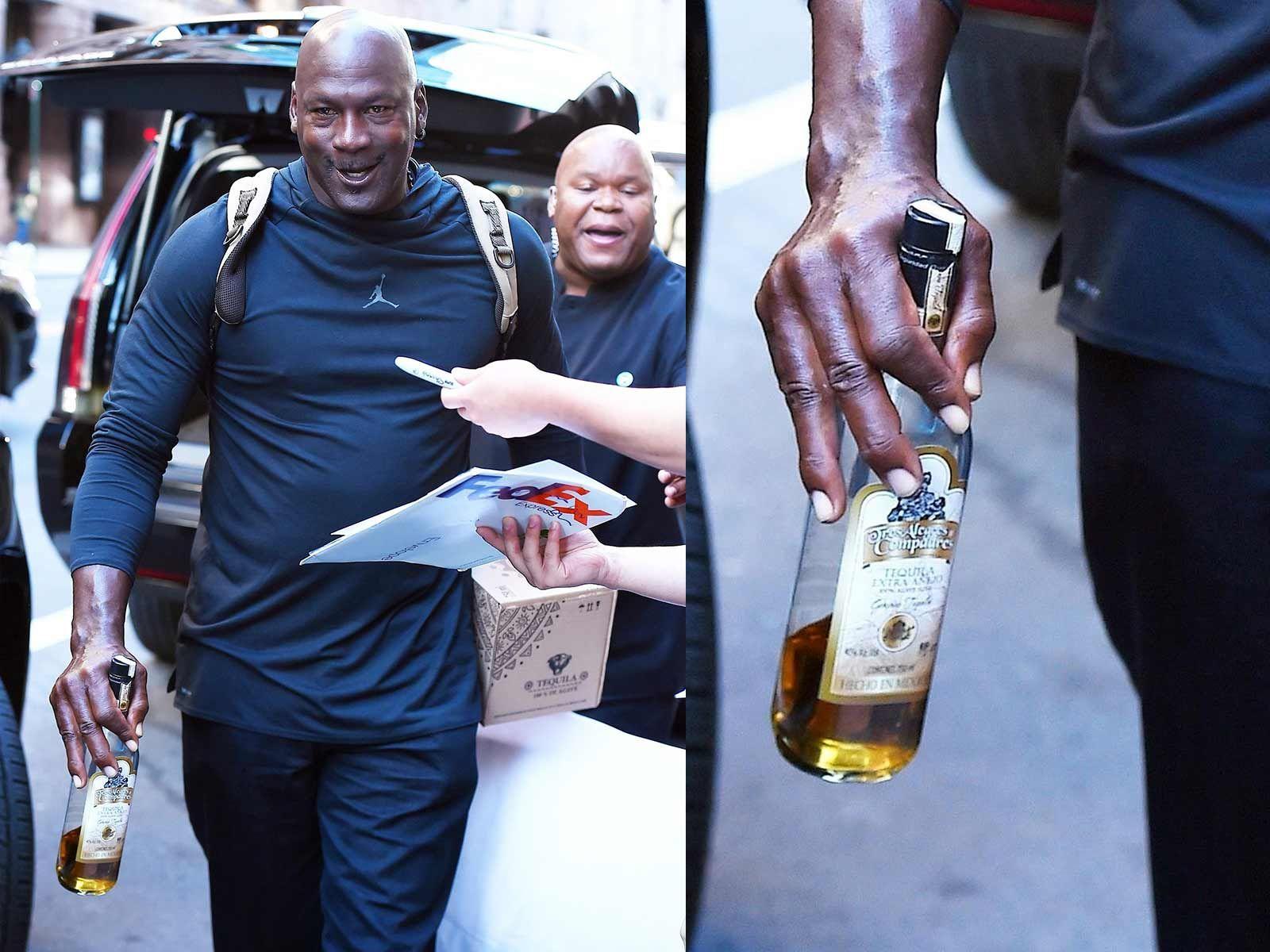 Michael Jordan Celebrates 20th Anniversary Of Final Shot With More Shots