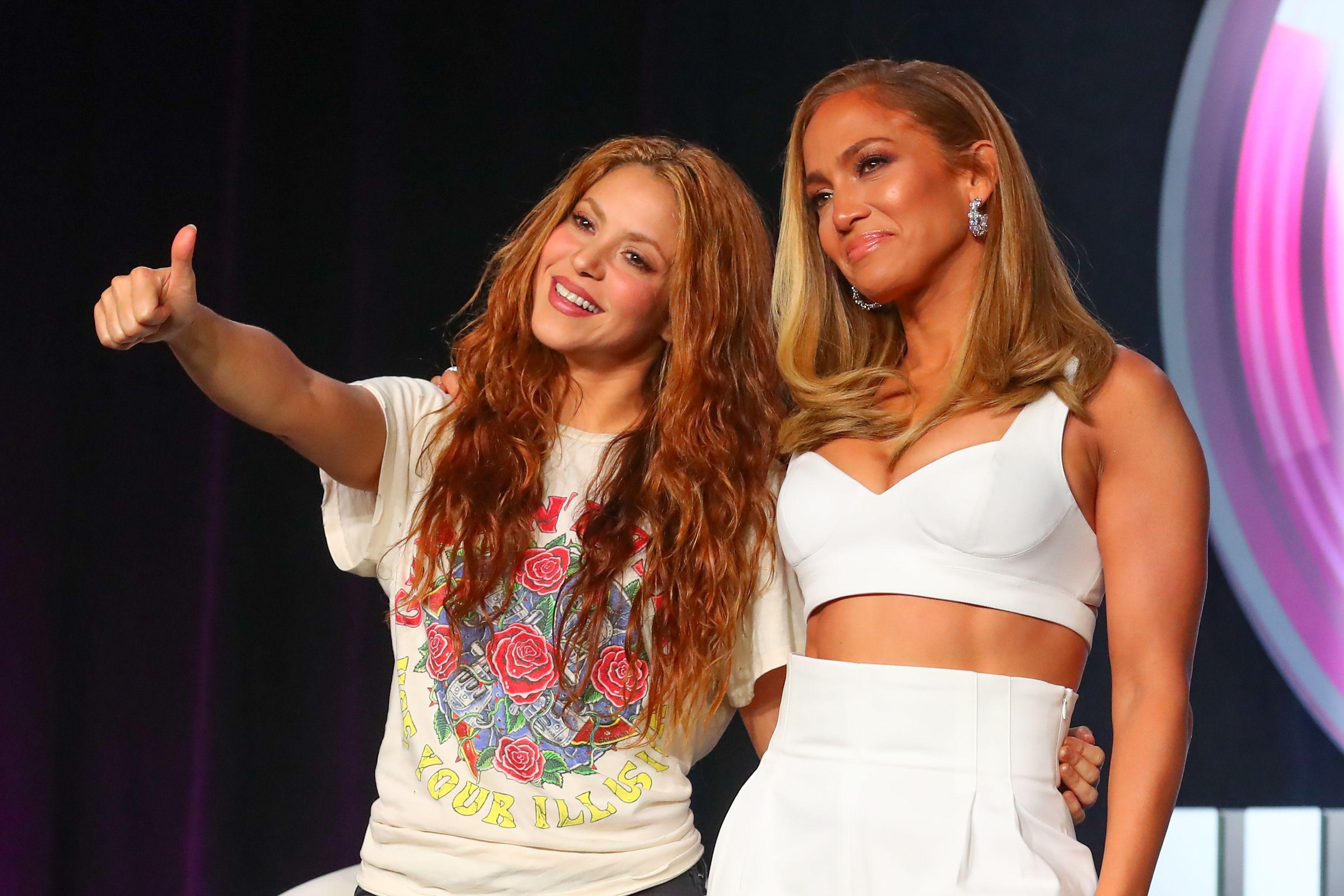 Shakira and J.Lo